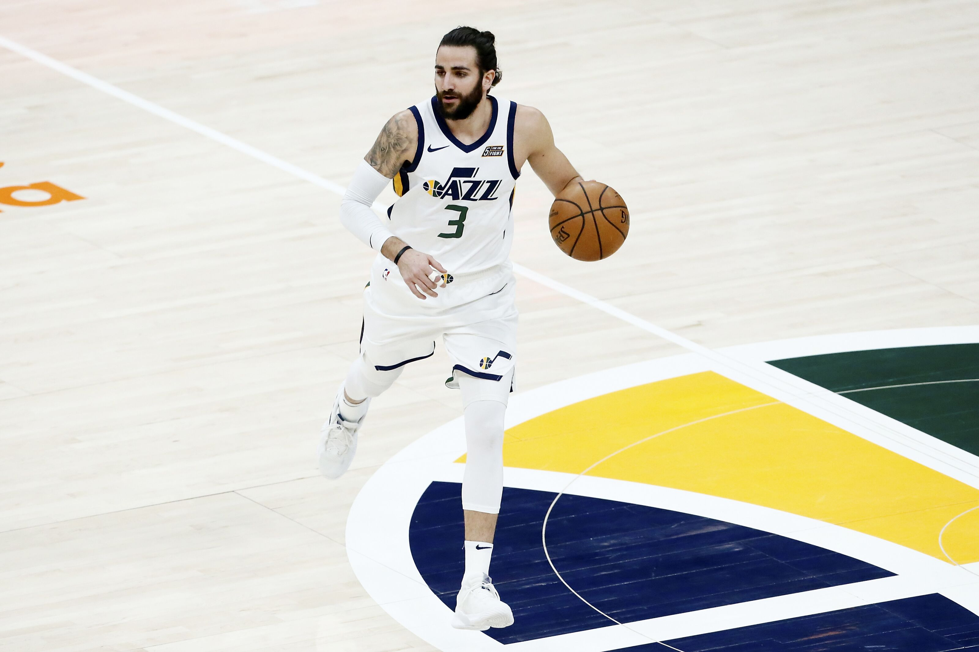 The Utah Jazz are undefeated with Ricky Rubio out of the lineup
