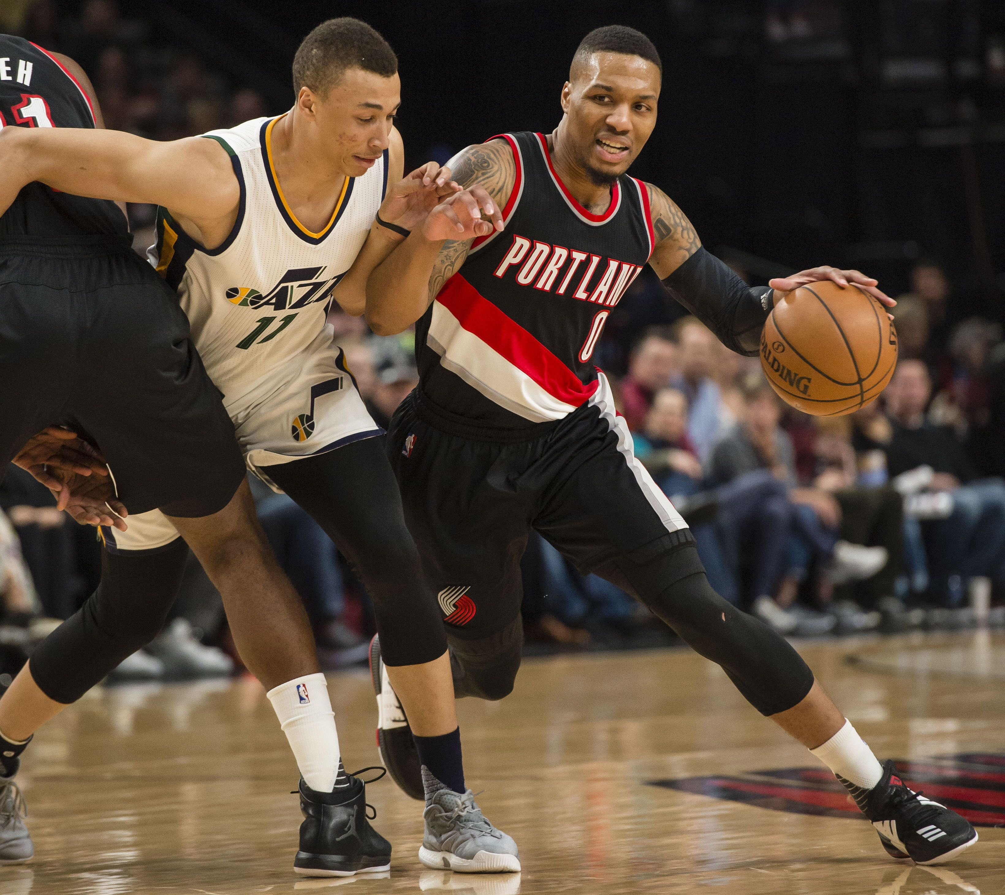 Portland Blazer Rumors: NBA Rumors: Damian Lillard Says He'd Play For The Utah Jazz