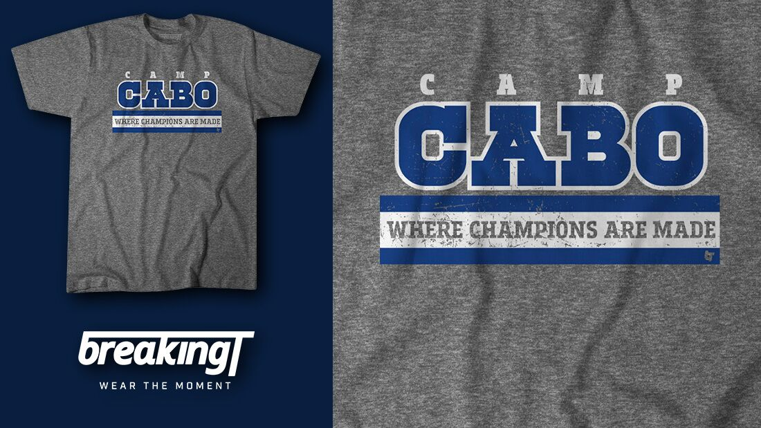 Dallas football fans need this new 'Camp Cabo' t-shirt
