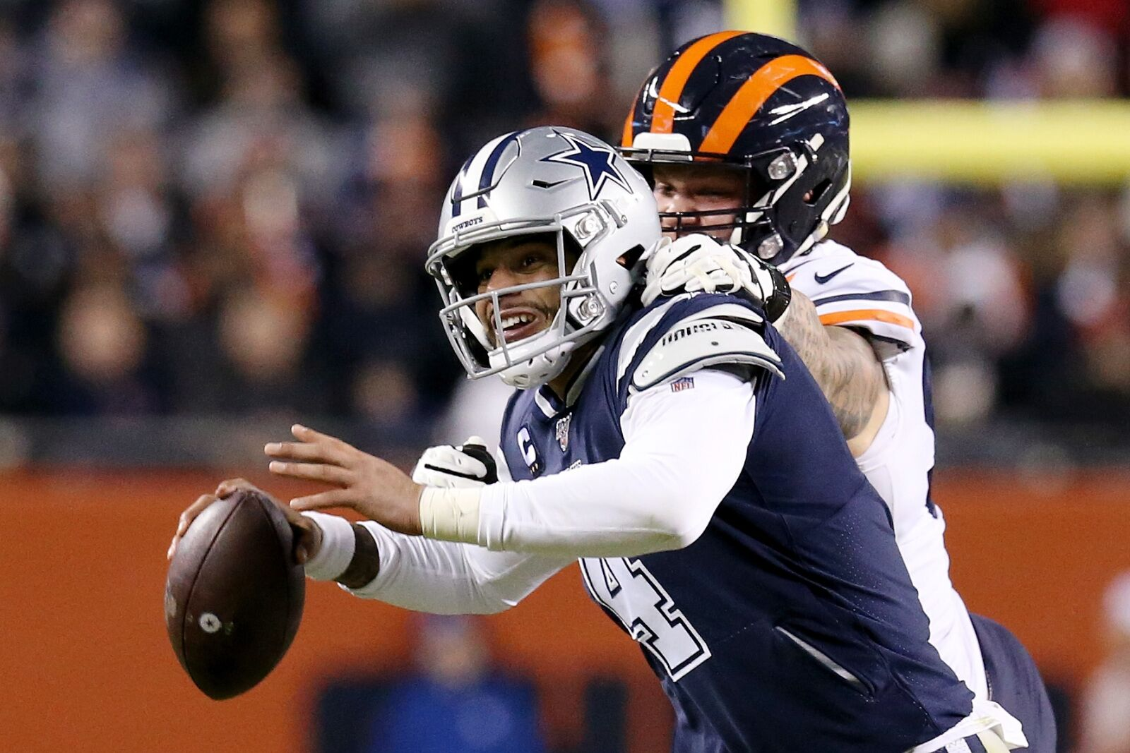 Cowboys lose to Bears; Frustration spills over on Thursday night