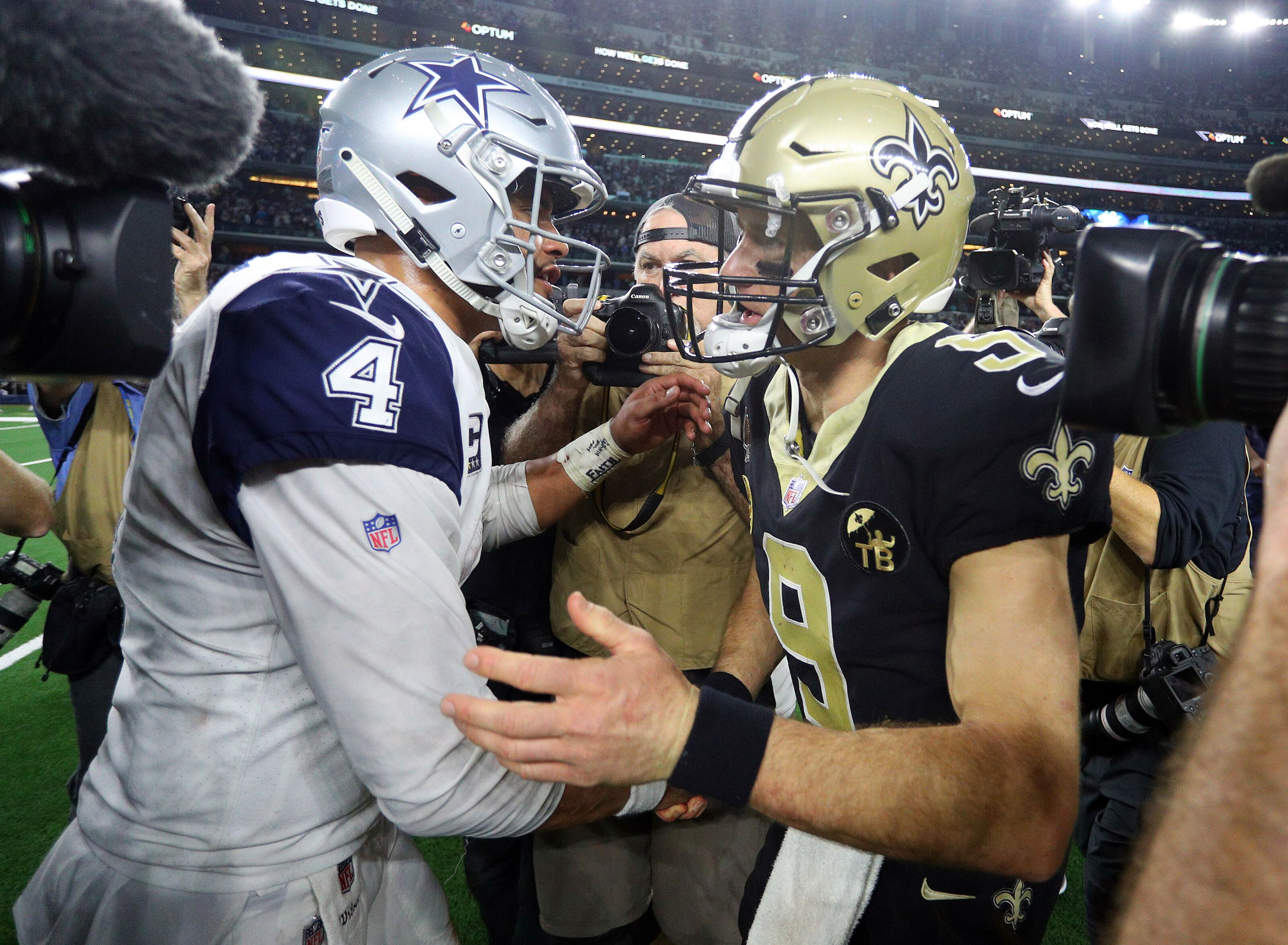 Where should the Dallas Cowboys rank among the NFC playoff teams?