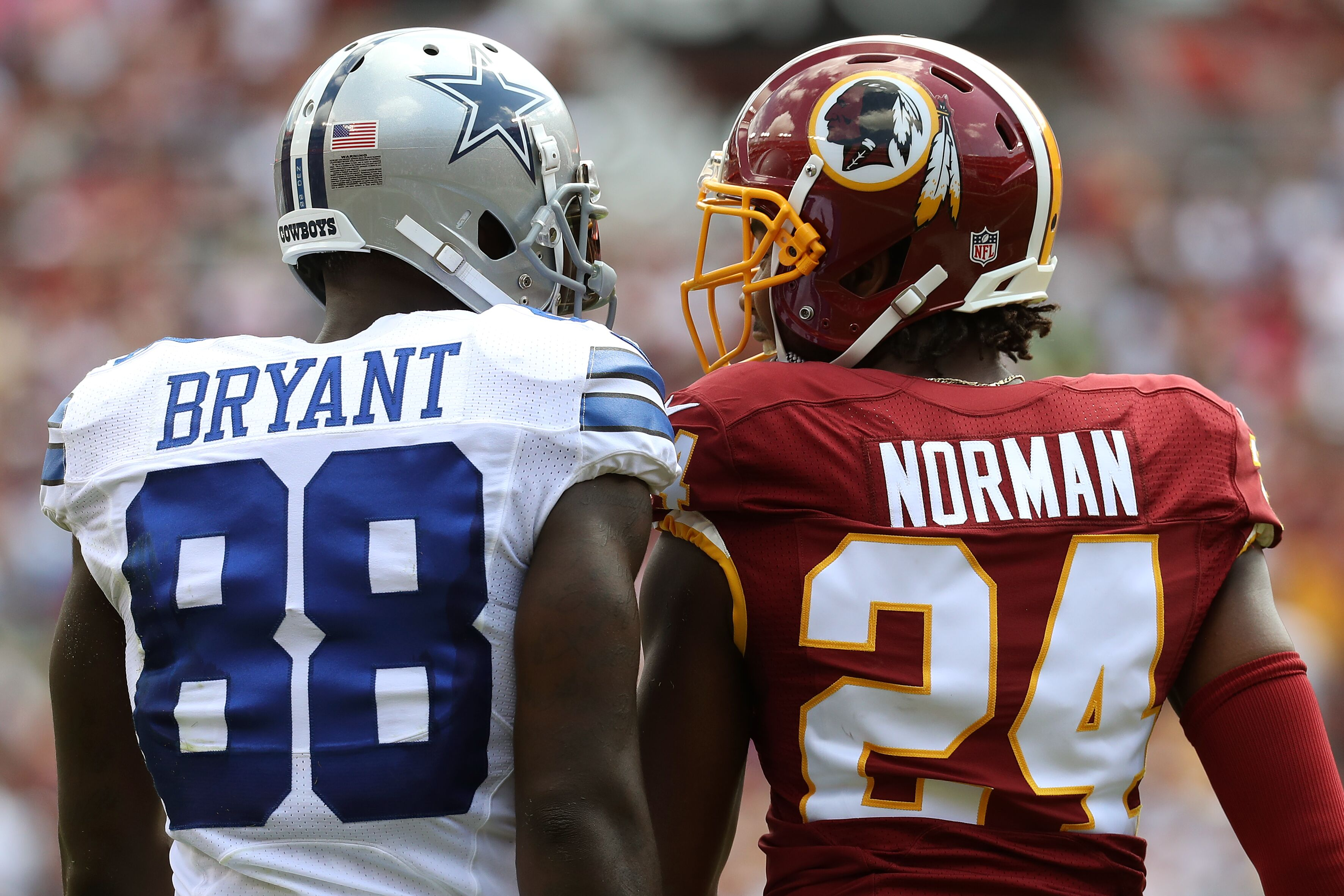Dez Bryant Vs Josh Norman A Very One Sided Matchup Thus Far