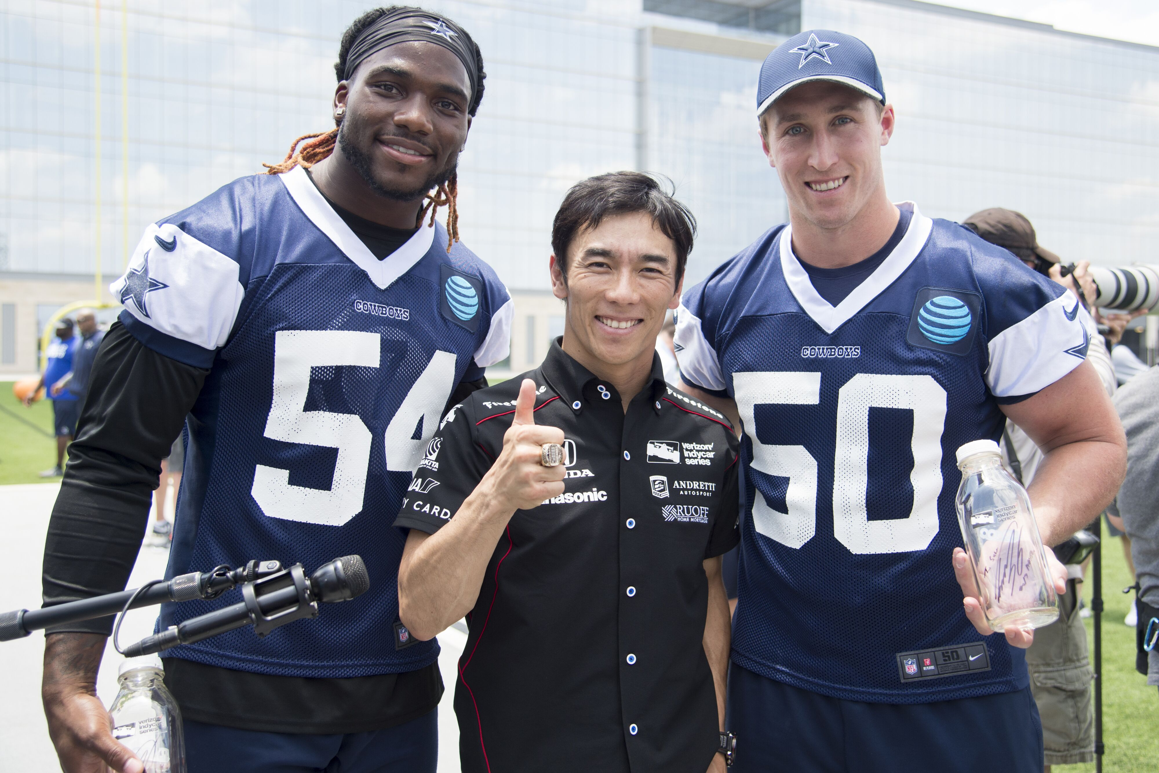 Dallas Cowboys Jaylon Smith finds a kindred spirit in Sean Lee