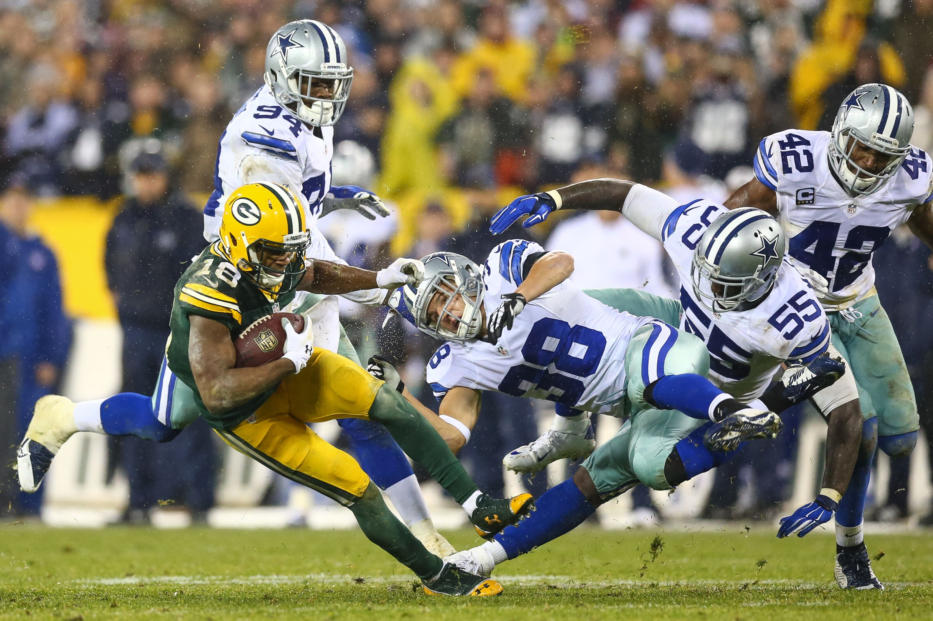 Randall Cobb vs. Cole Beasley: Did the Dallas Cowboys upgrade at receiver?