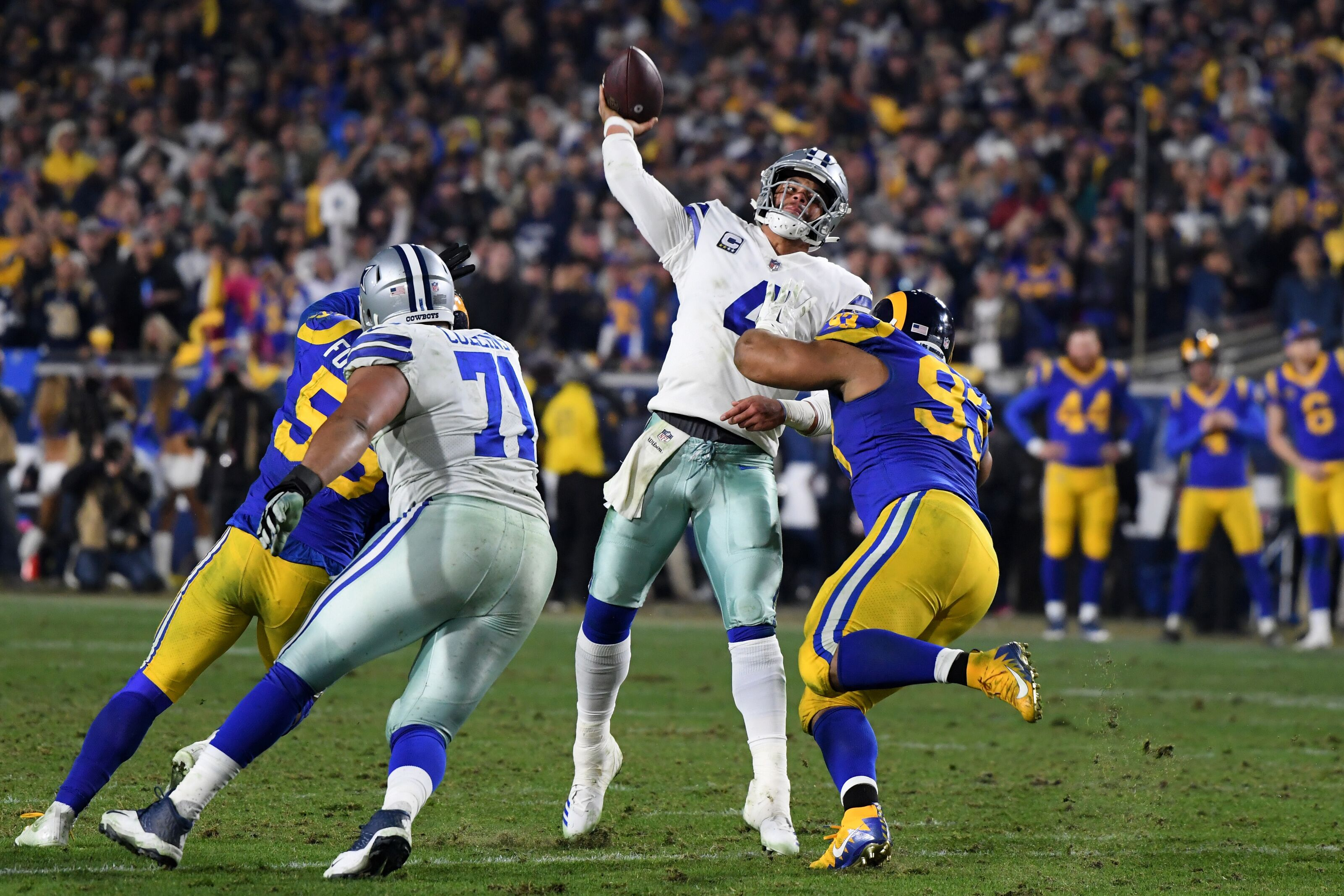 Do the Dallas Cowboys have a realistic shot at beating the Rams?
