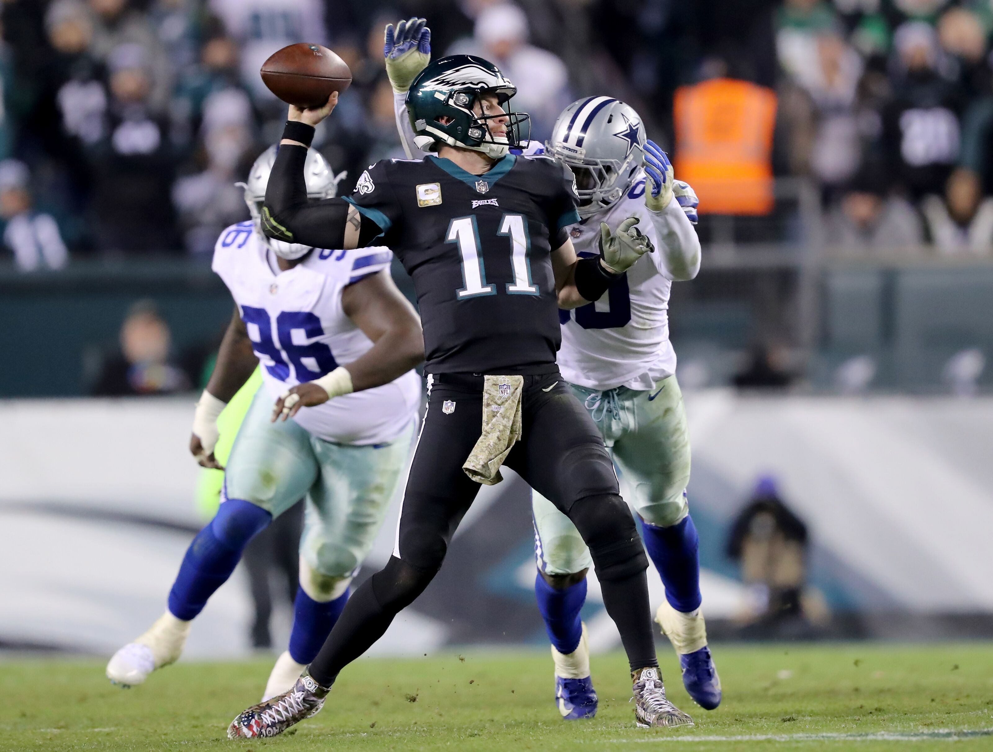 Can the Dallas Cowboys stop a healthy Carson Wentz?