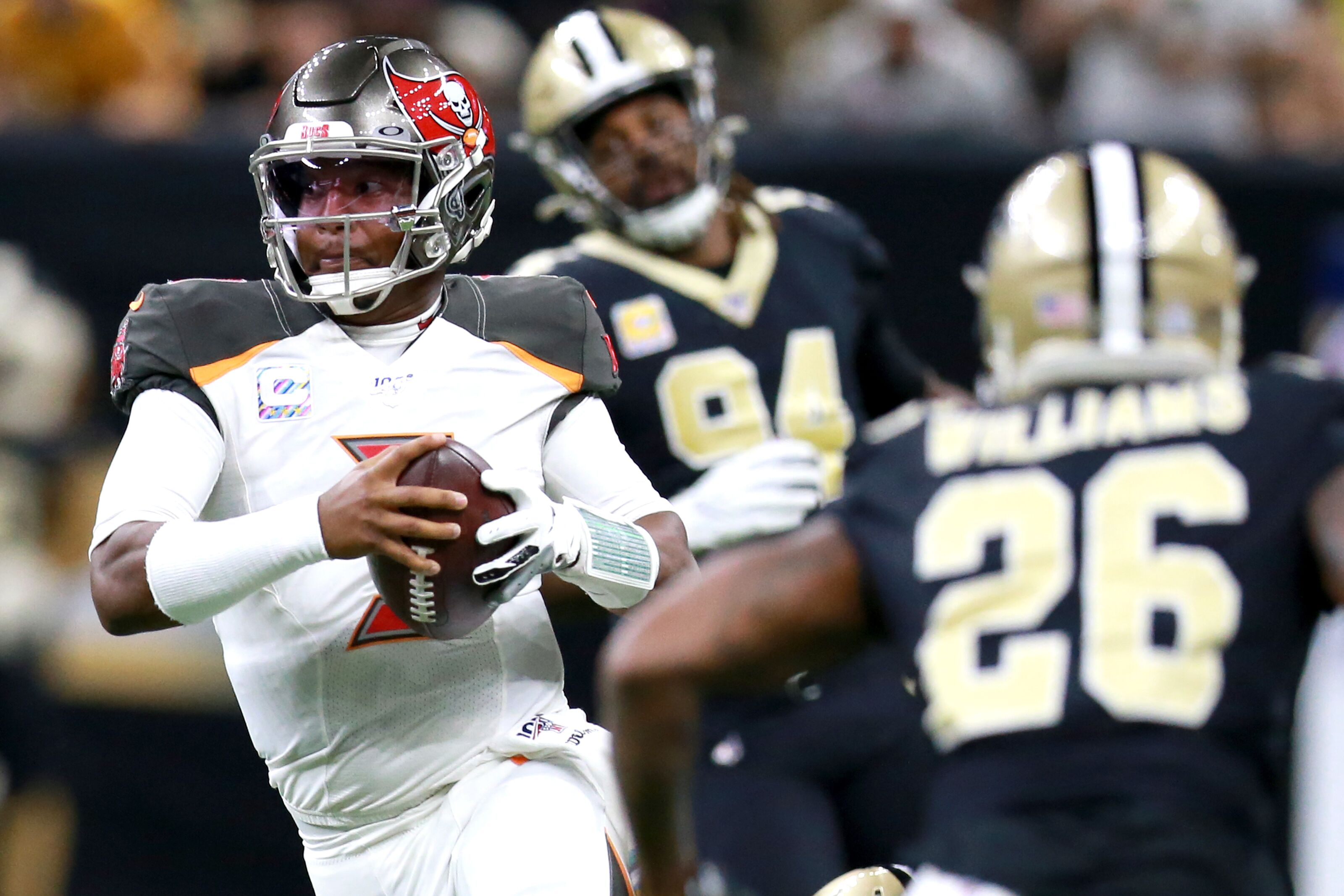 Secondary exposed in Buccaneers divisional loss to Saints
