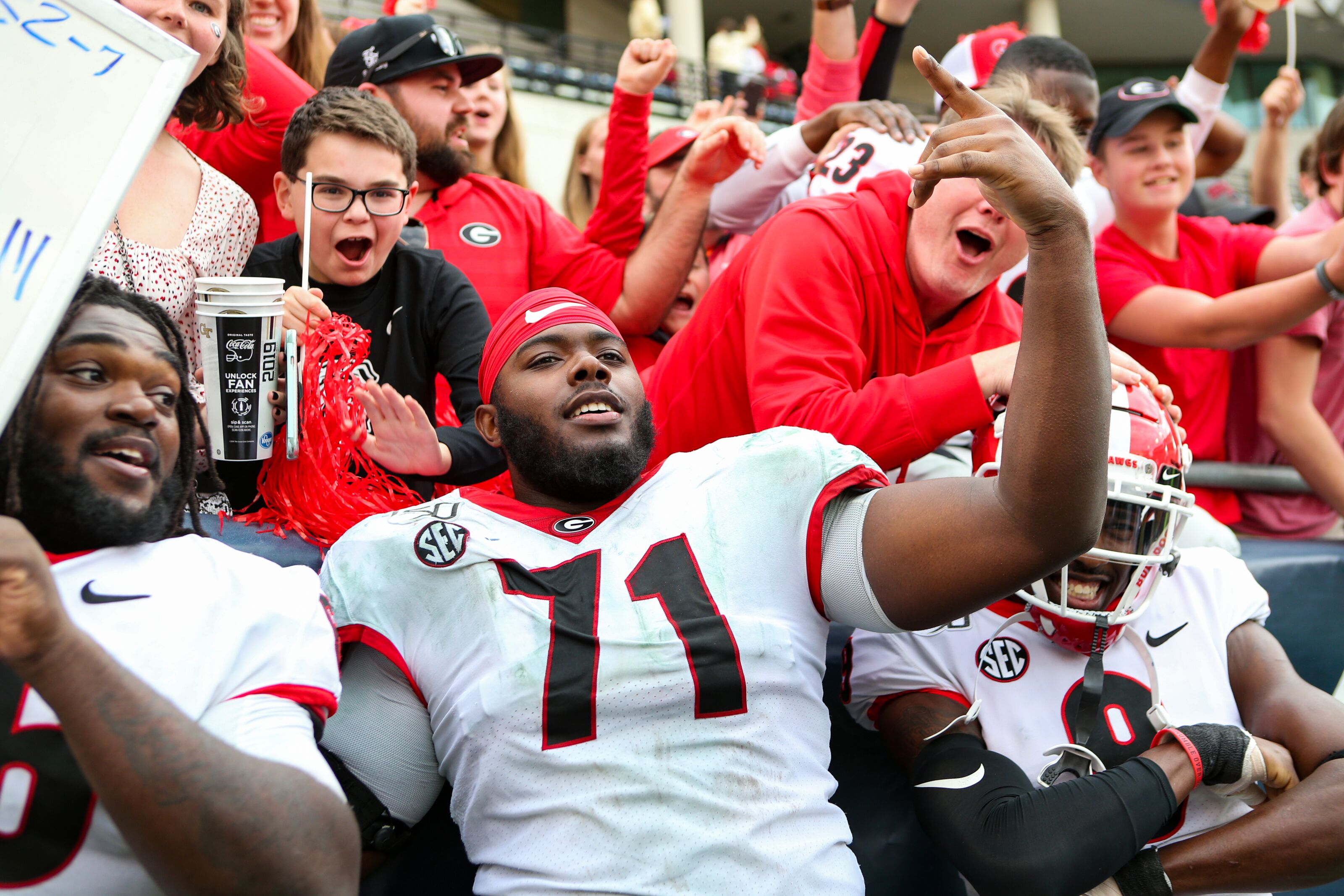 NFL Mock Draft: Star-studded OT Andrew Thomas projected to Buccaneers