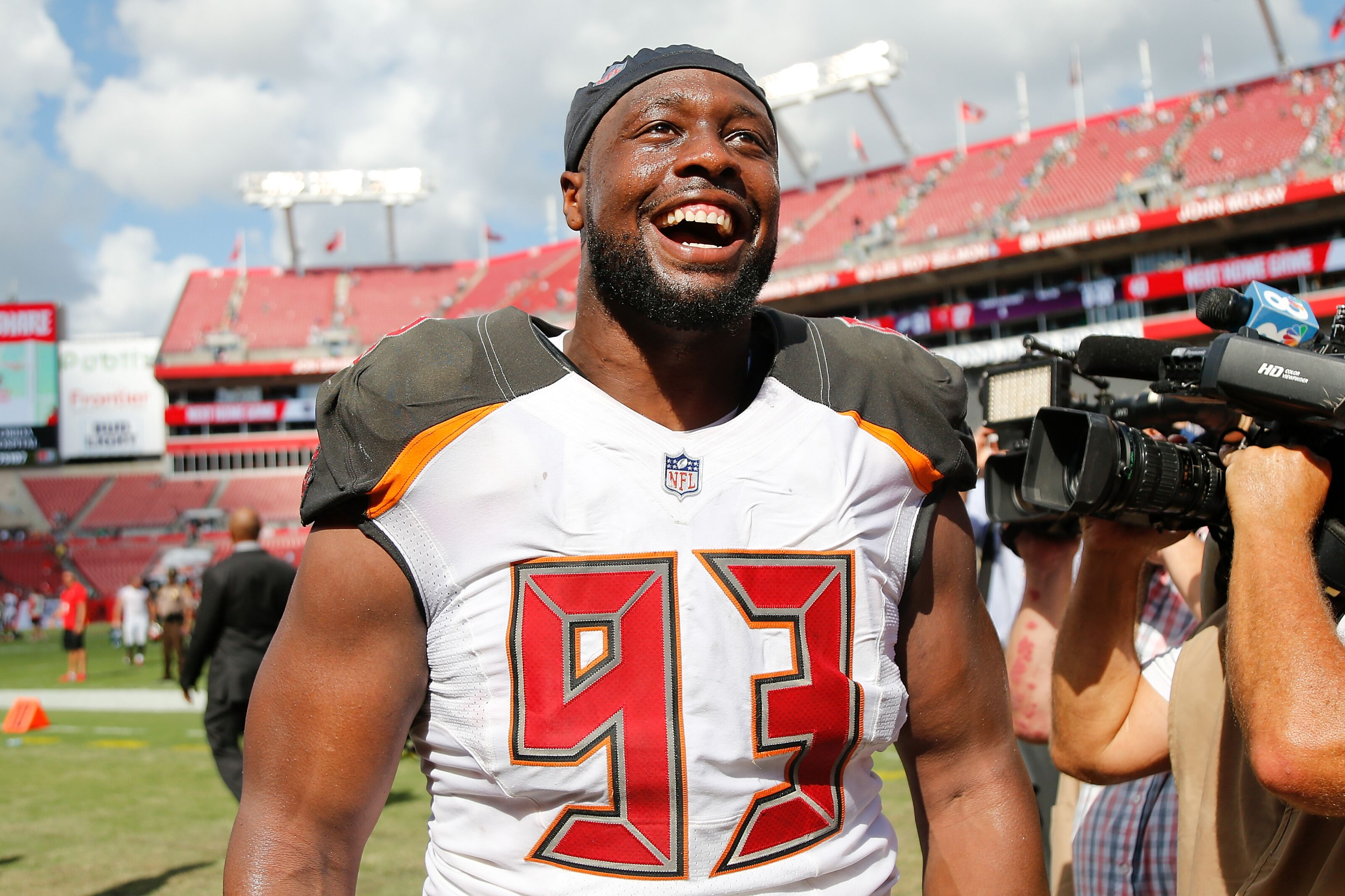 """Gerald McCoy says Tampa Bay Buccaneers """"changed my life"""""""