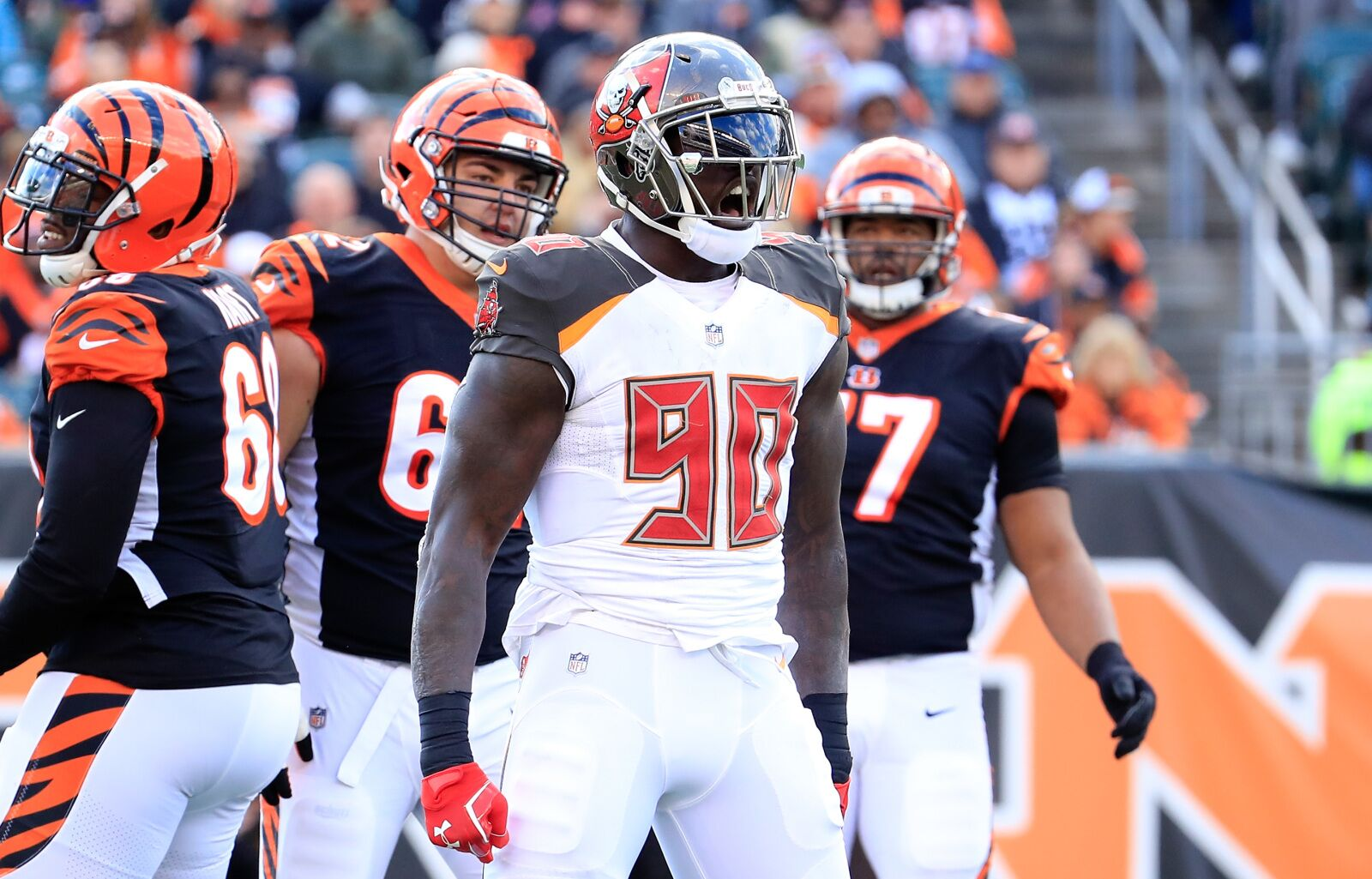 Jason Pierre-Paul back at practice for Tampa Bay Buccaneers