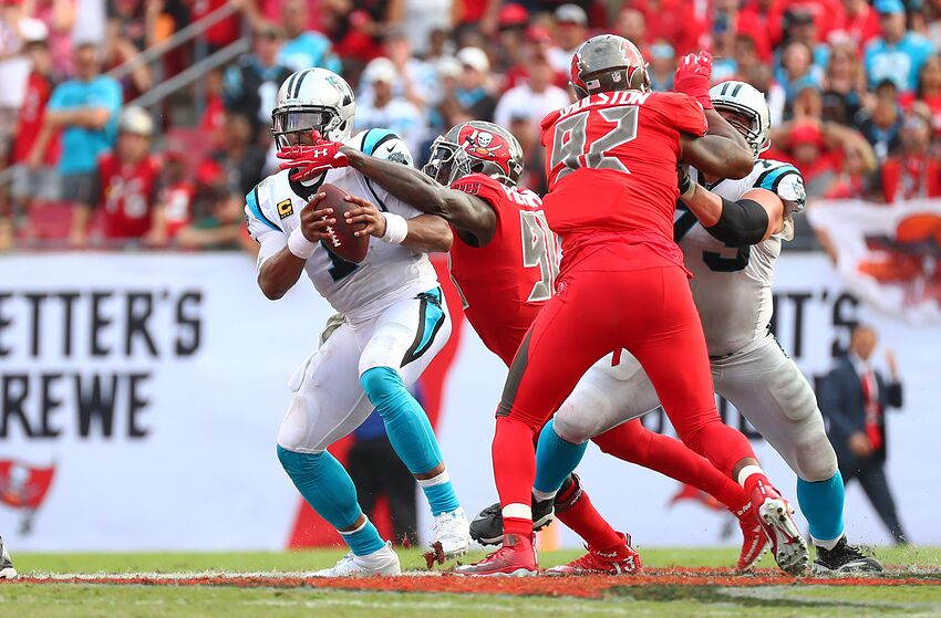 bb34844a Carolina Panthers Cam Newton takes shot at Tampa Bay Buccaneers