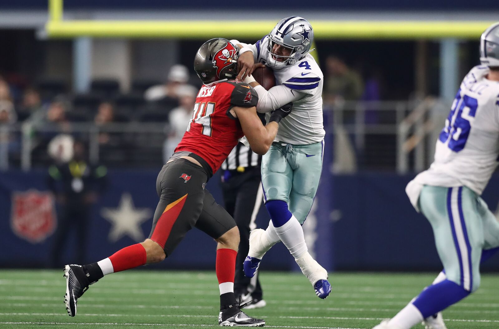 hot sale online 5dbf2 d815d Carl Nassib is paying dividends for the Tampa Bay Buccaneers