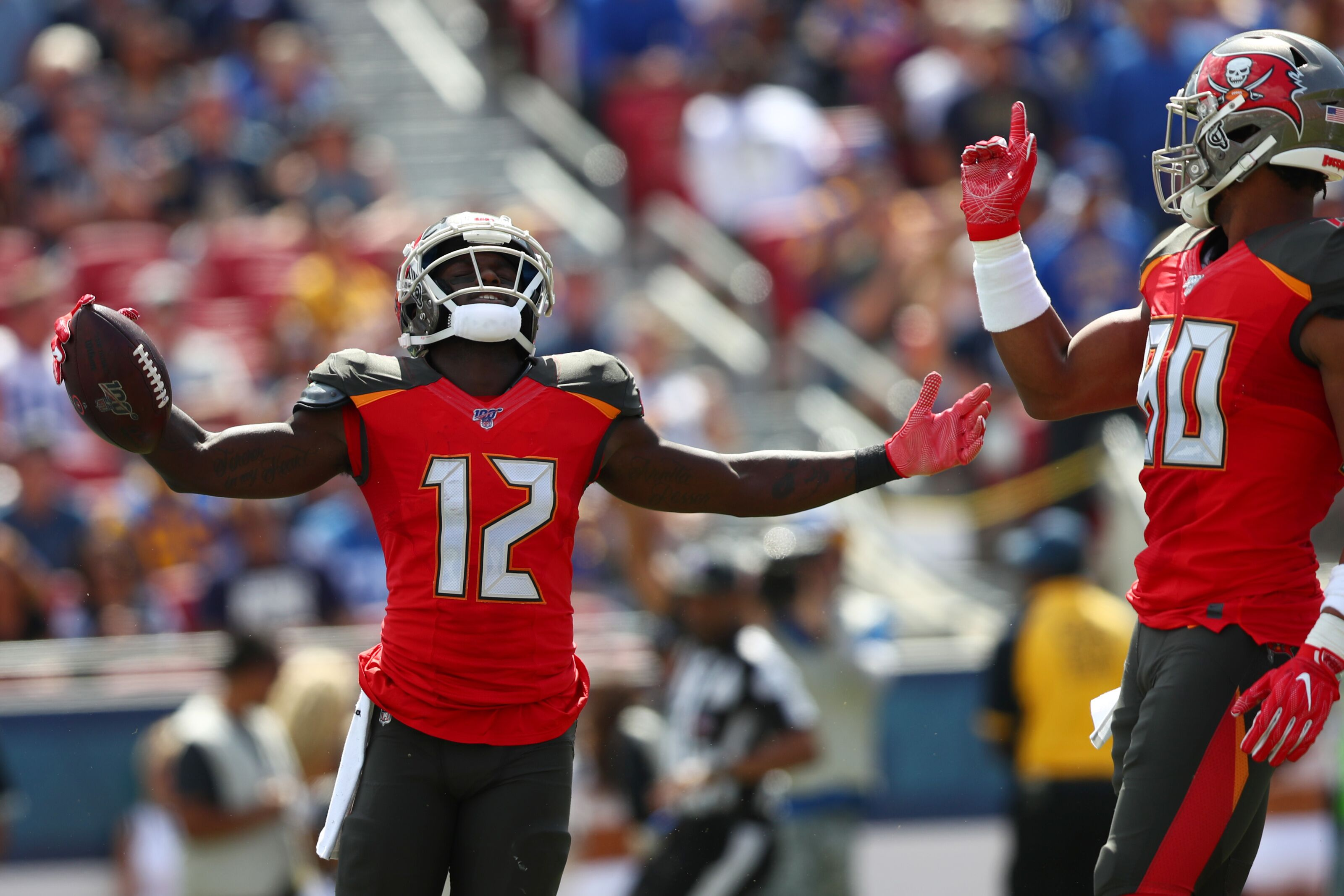 Buccaneers wide receiver pledges donation to animal rescue per catch