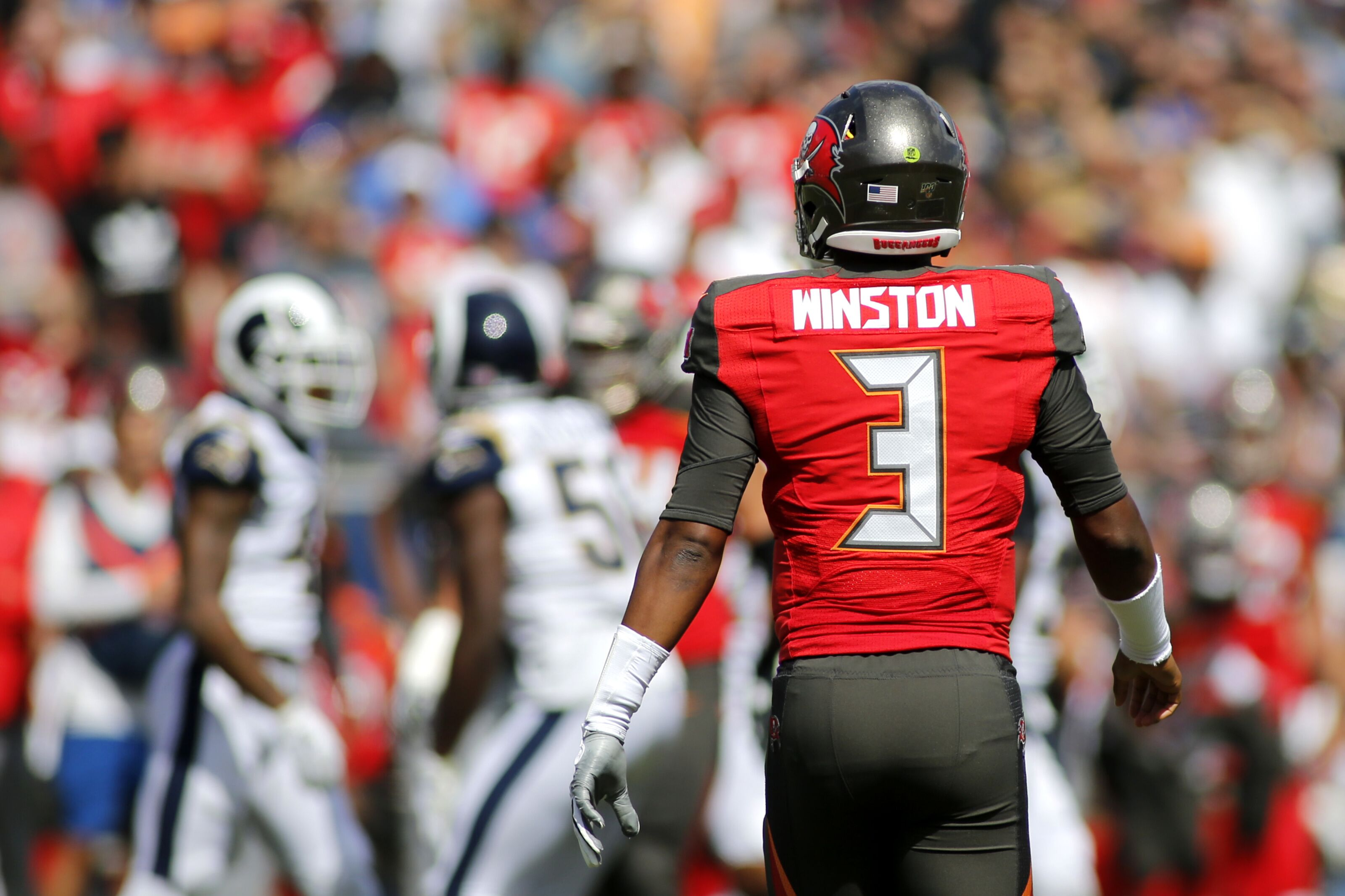 Buccaneers: Call him Harvey Dent; Jameis Winston is two-faced