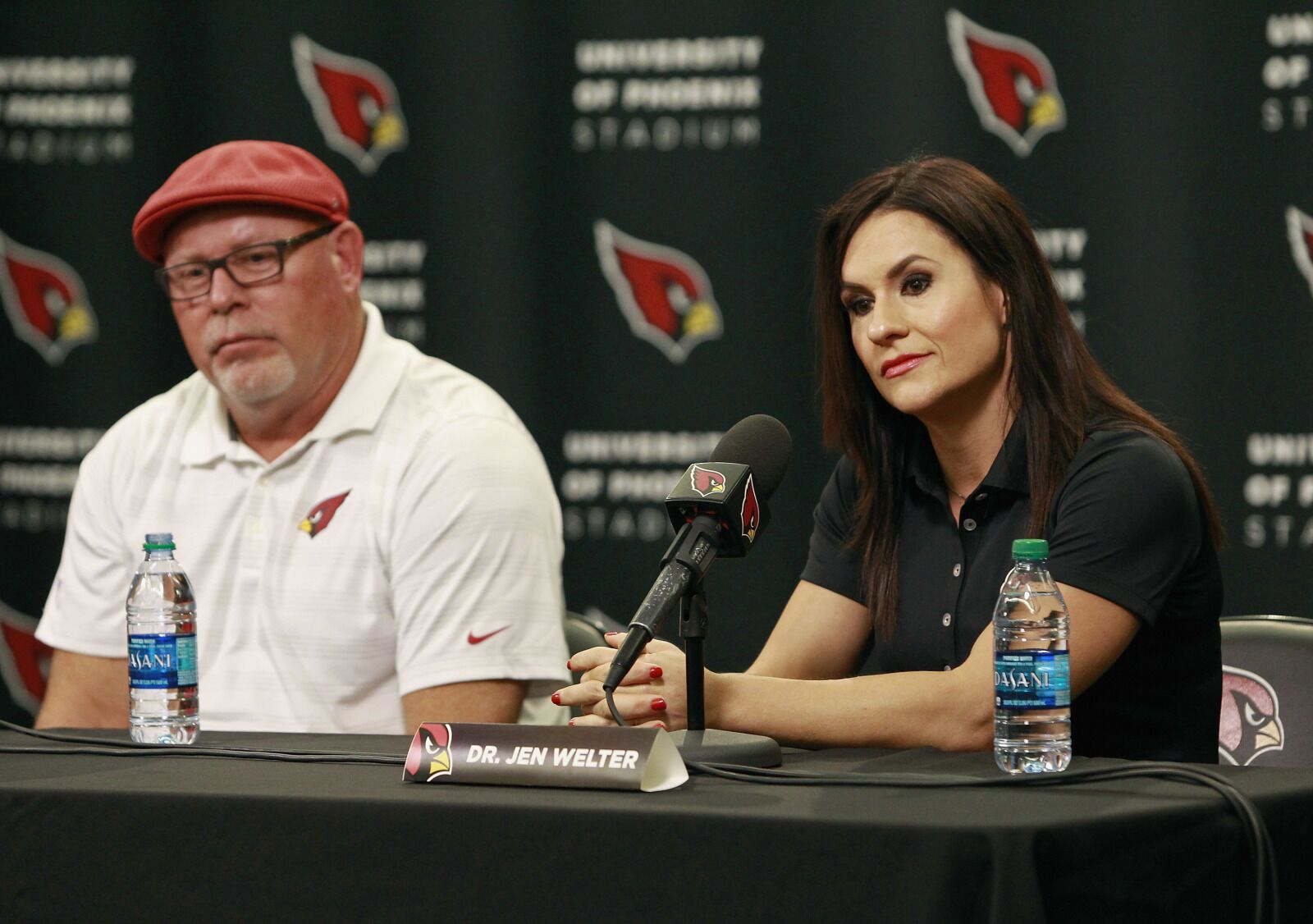 06a046dd Tampa Bay Buccaneers: Bruce Arians believes in women in the NFL