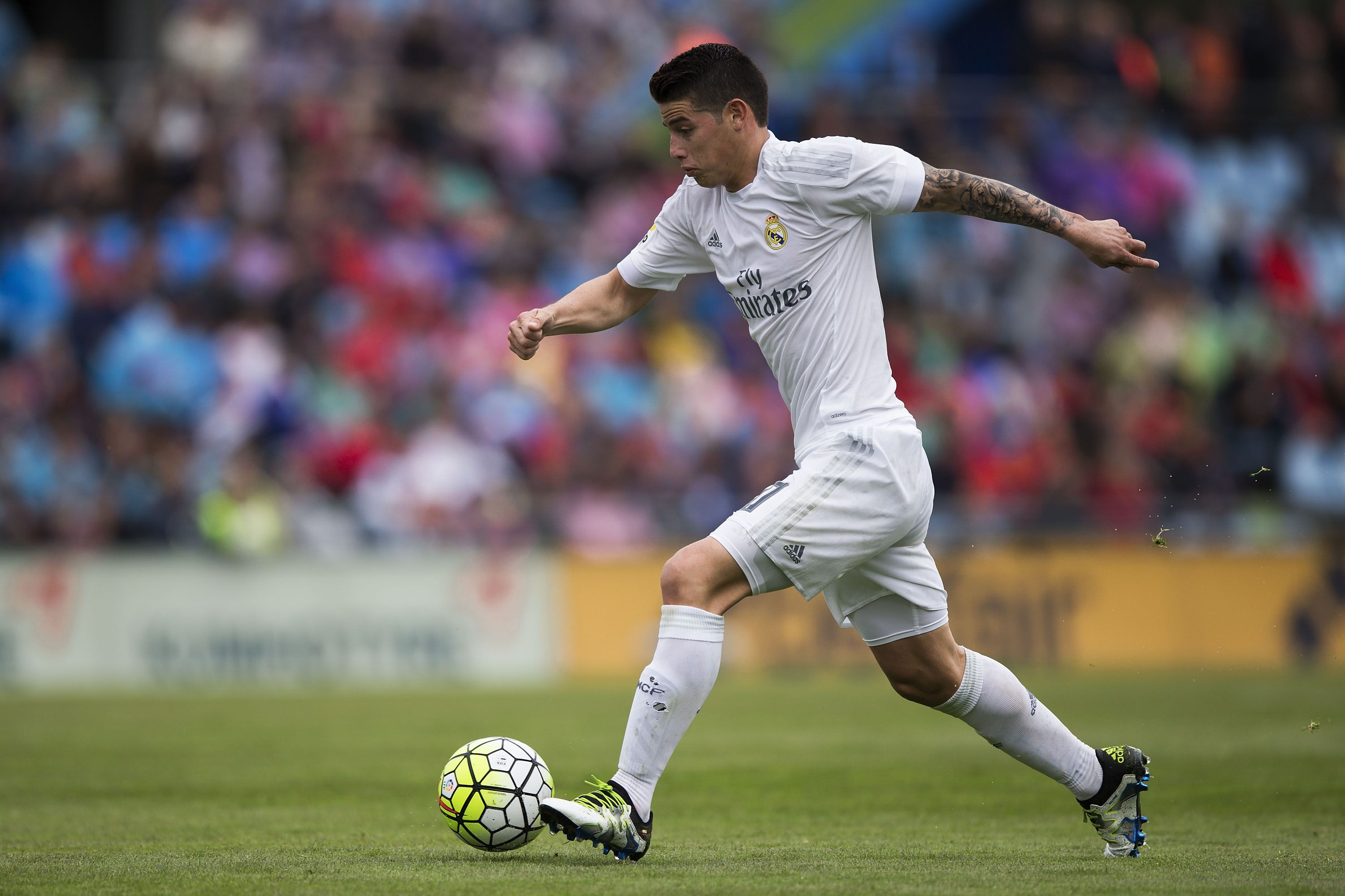 Getafe Cf V Real Madrid Cf: James Rodriguez Transfer Rumours: How Could He Fit In At