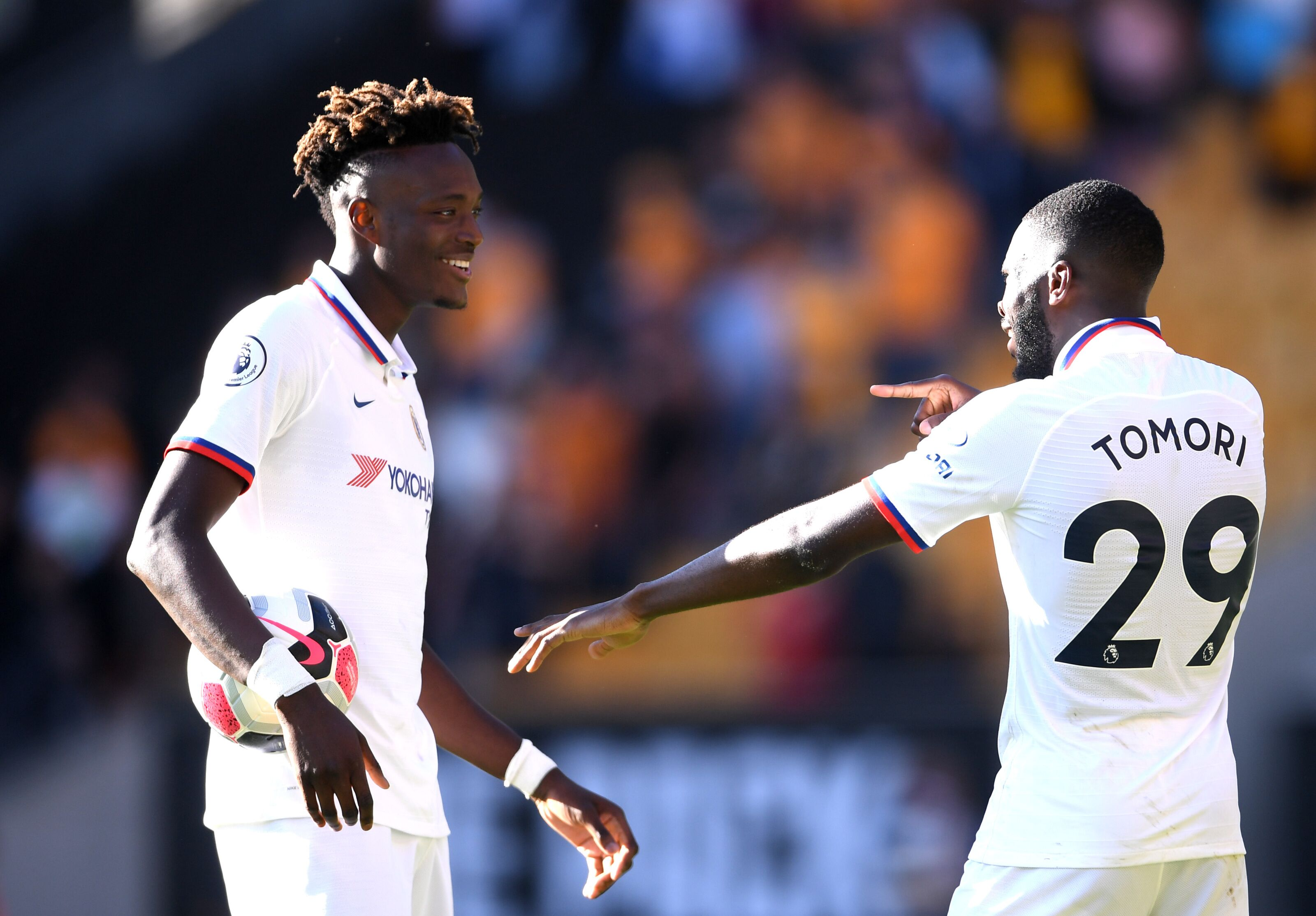 Image result for tammy abraham vs wolves