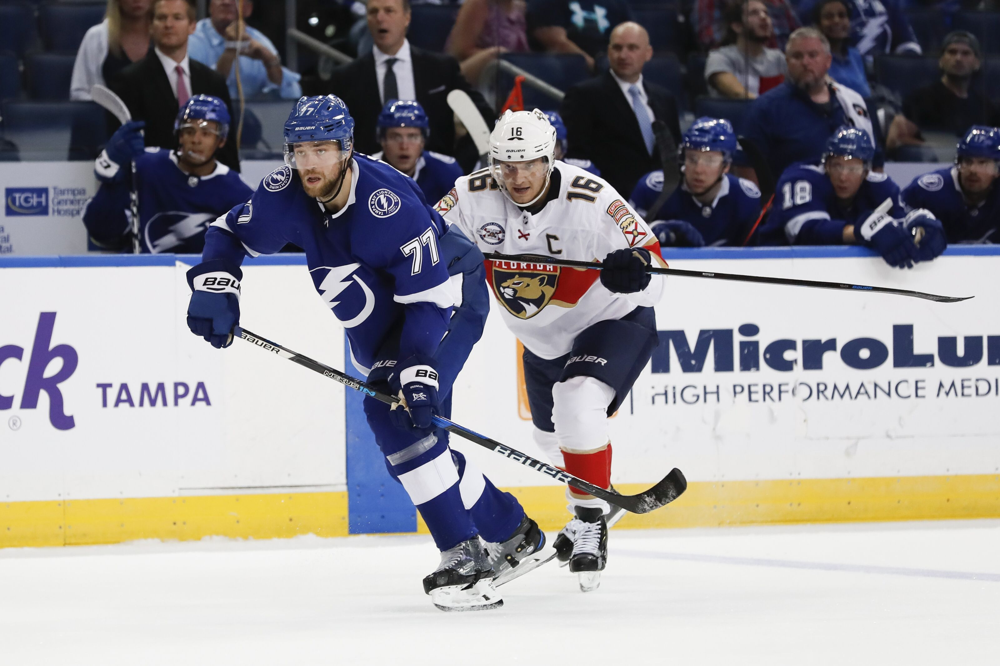 Florida Panthers Game 1 Preview Cats Visit Tampa Bay To Kickoff The