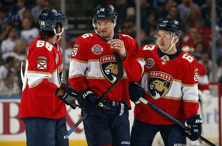 df80a400 Florida Panthers: Who Would Have Thunk? A Season in the Toilet