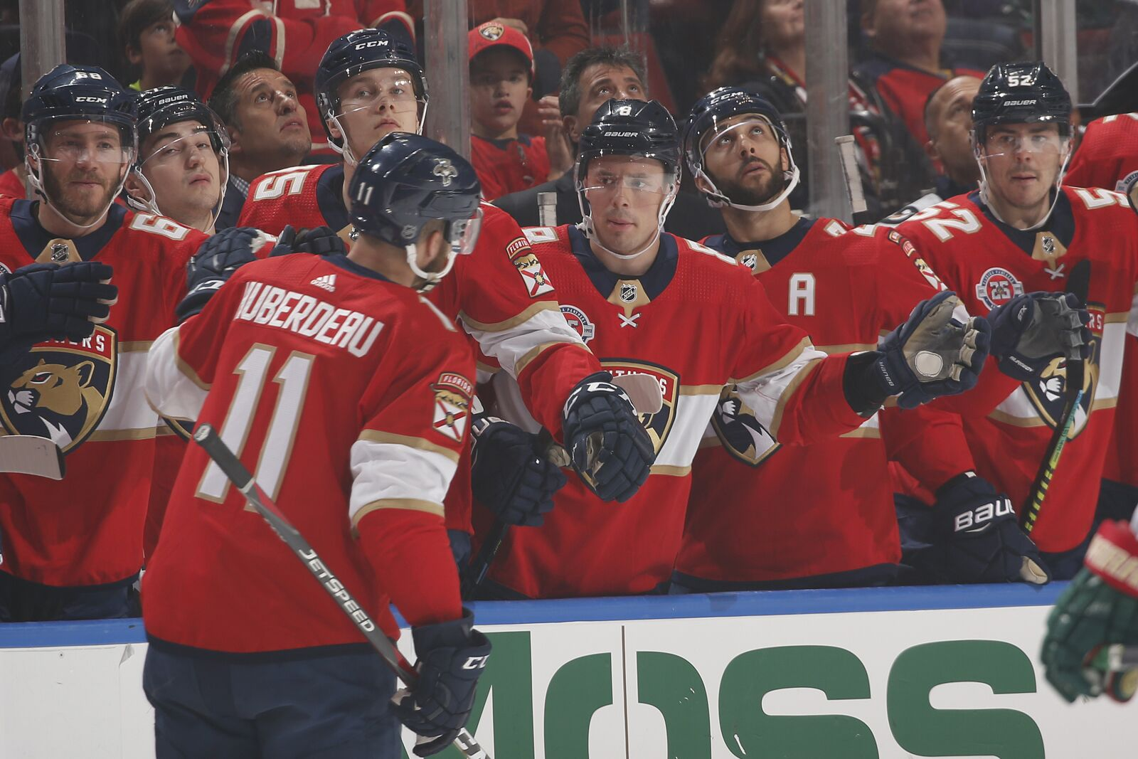 0eccaaa7a Florida Panthers  Huberdeau Joins Barkov in 80-Point Club