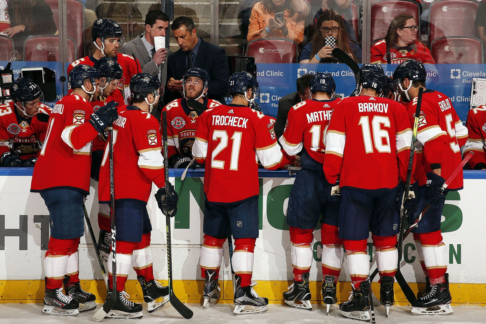 dcf355e55cb Florida Panthers  Three Players That Could Leave This Offseason