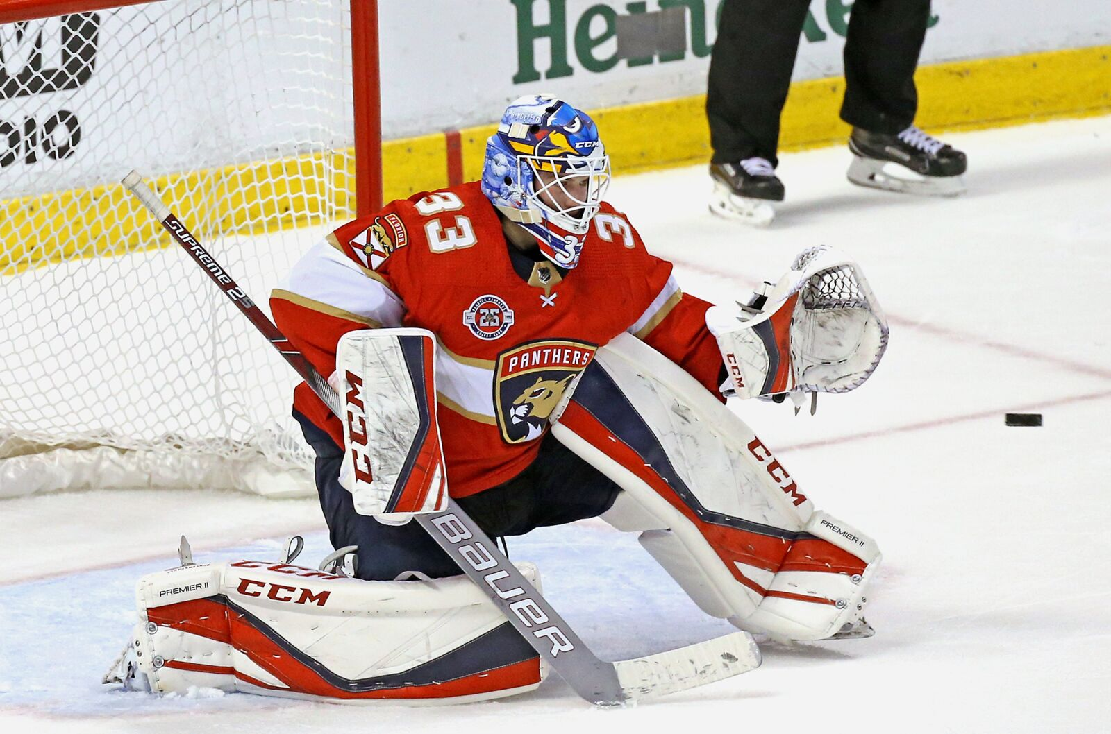 Florida Panthers Sam Montembeault Looks Ready To Replace Luongo