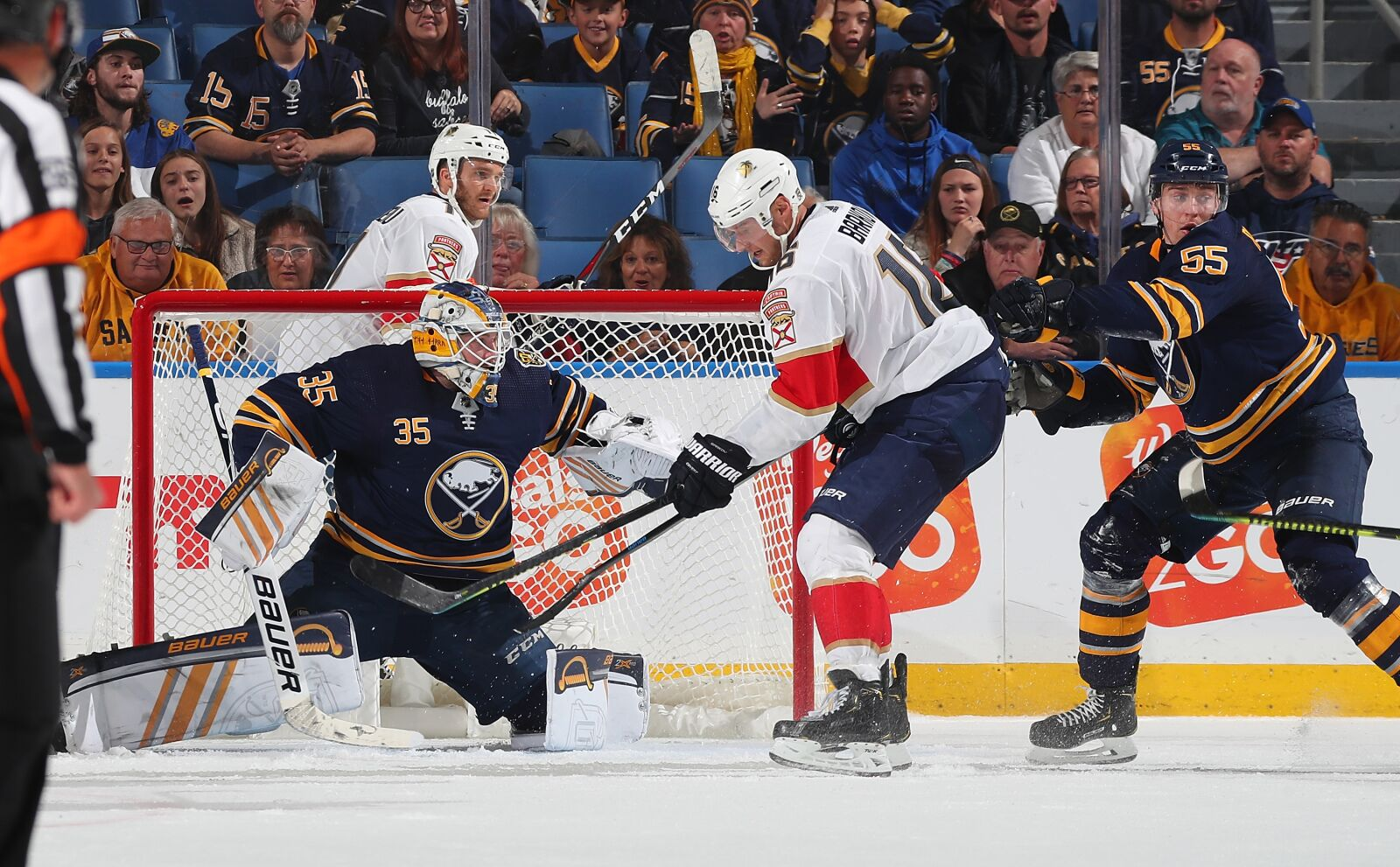 Florida Panthers Fall to the Buffalo Sabres in Shootout, 3-2