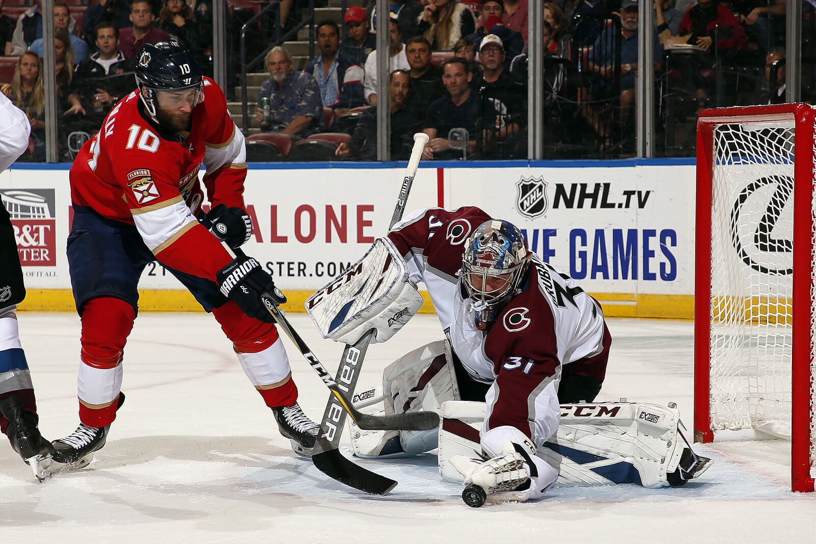Florida Panthers Start Well, Fail to Take Chances in 5-4 OT Loss to Colorado