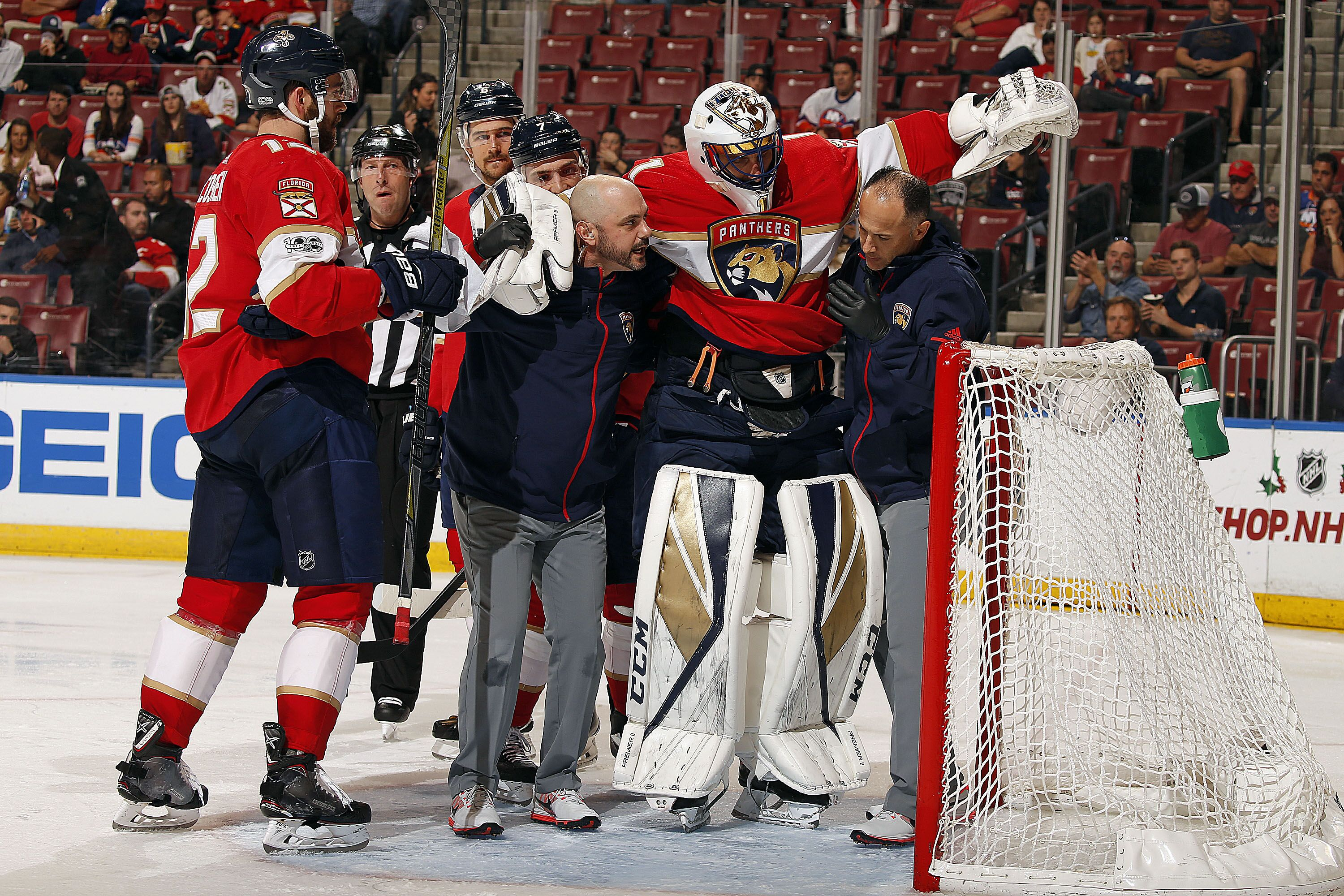 Florida Panthers Where They Turn Next After The Roberto Luongo Injury