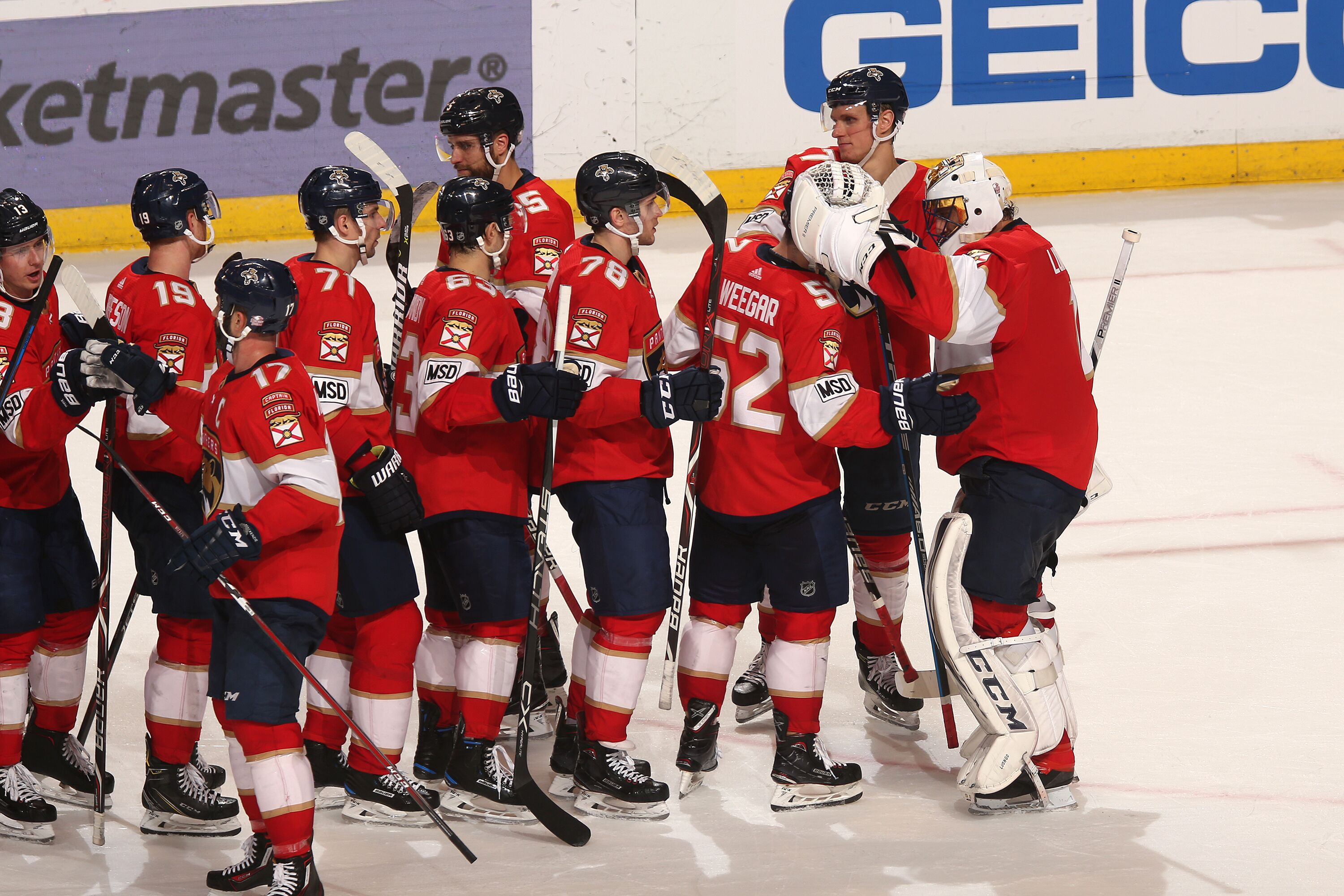 wholesale dealer 95b3b 03472 Florida Panthers hammer the Montreal Canadiens, 5-0