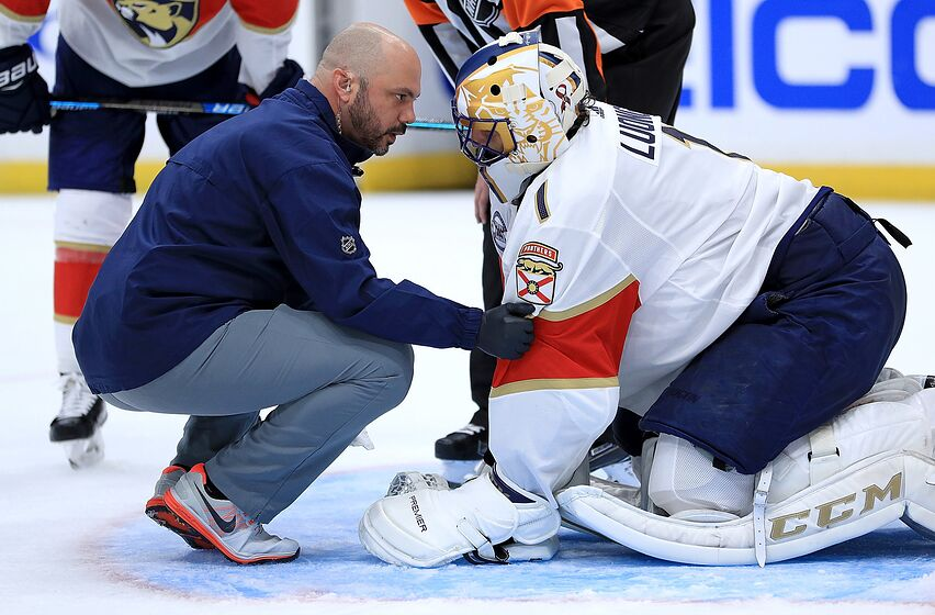 Florida Panthers Roberto Luongo S Injury Remains A Huge Loss
