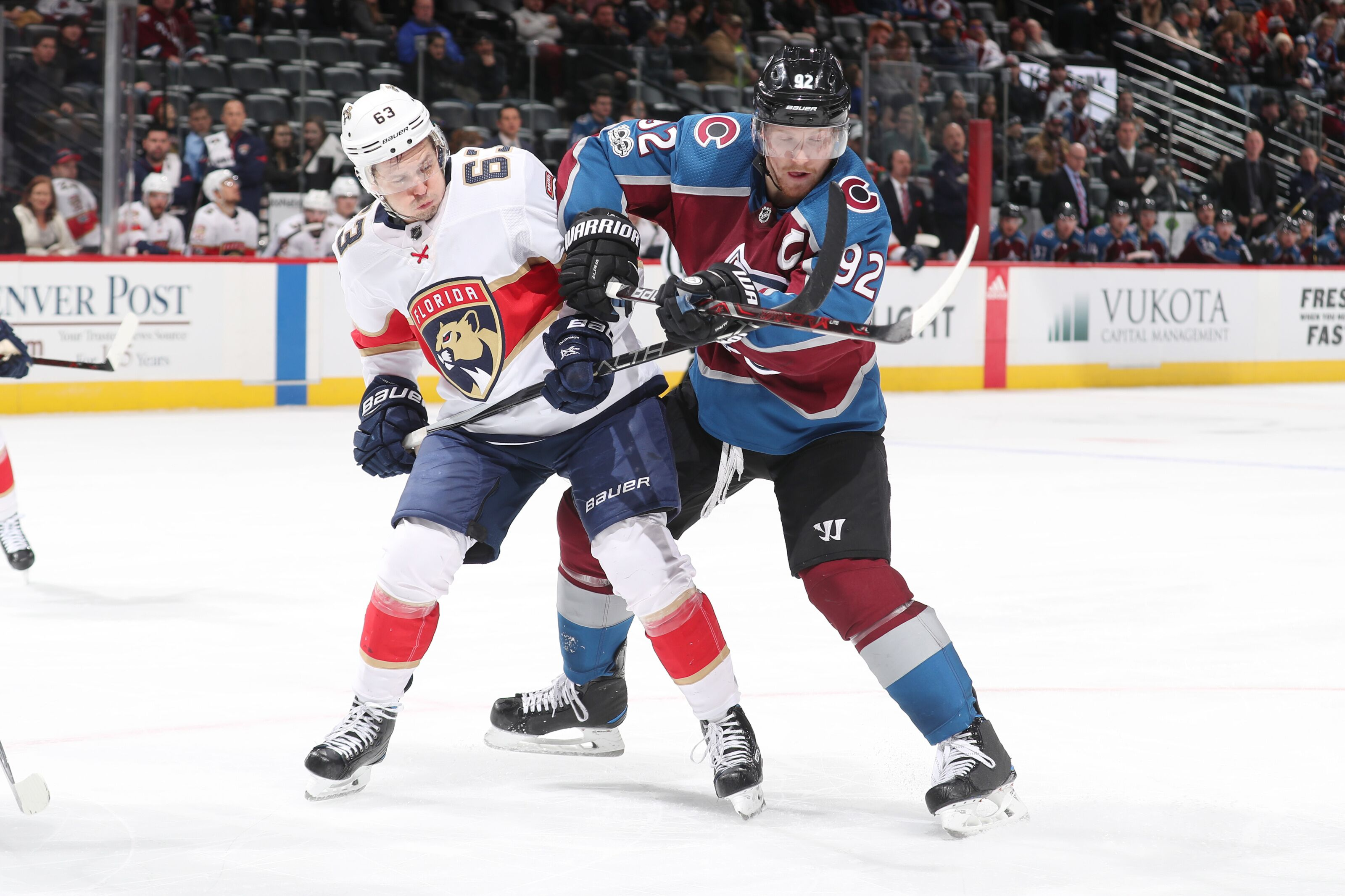 Florida Panthers Faceoff Against Avs With Hopes Of Two Straight Wins