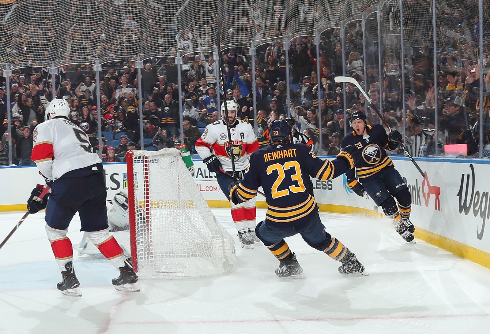 Florida Panthers  Skinner s Double Propels Eichel-less Sabres over Cats 670f5b458