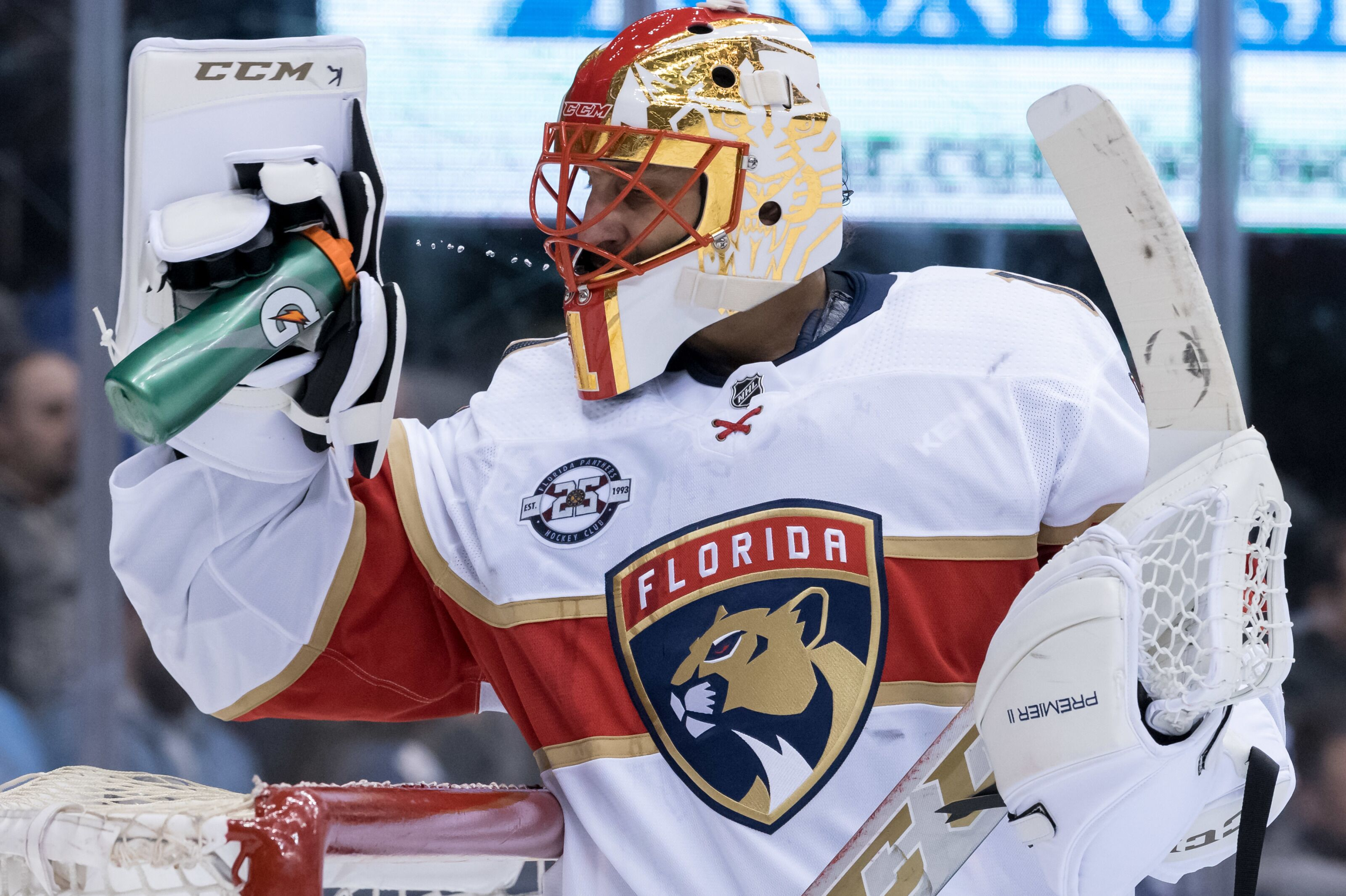 Florida Panthers Roberto Luongo Suffers Through Condensed Season