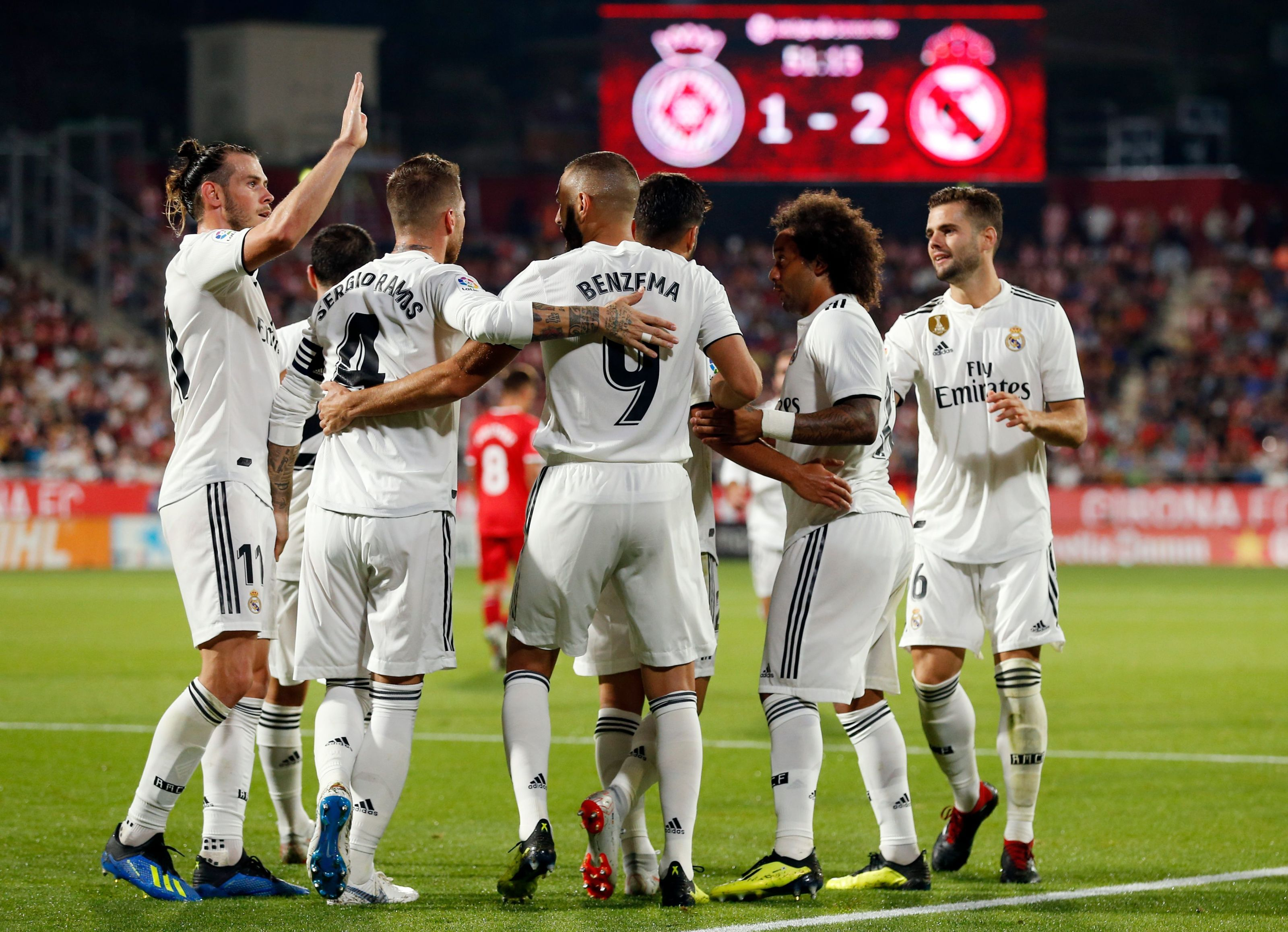 39511bbd1 Girona 1-4 Real Madrid  Here s how Twitter reacted
