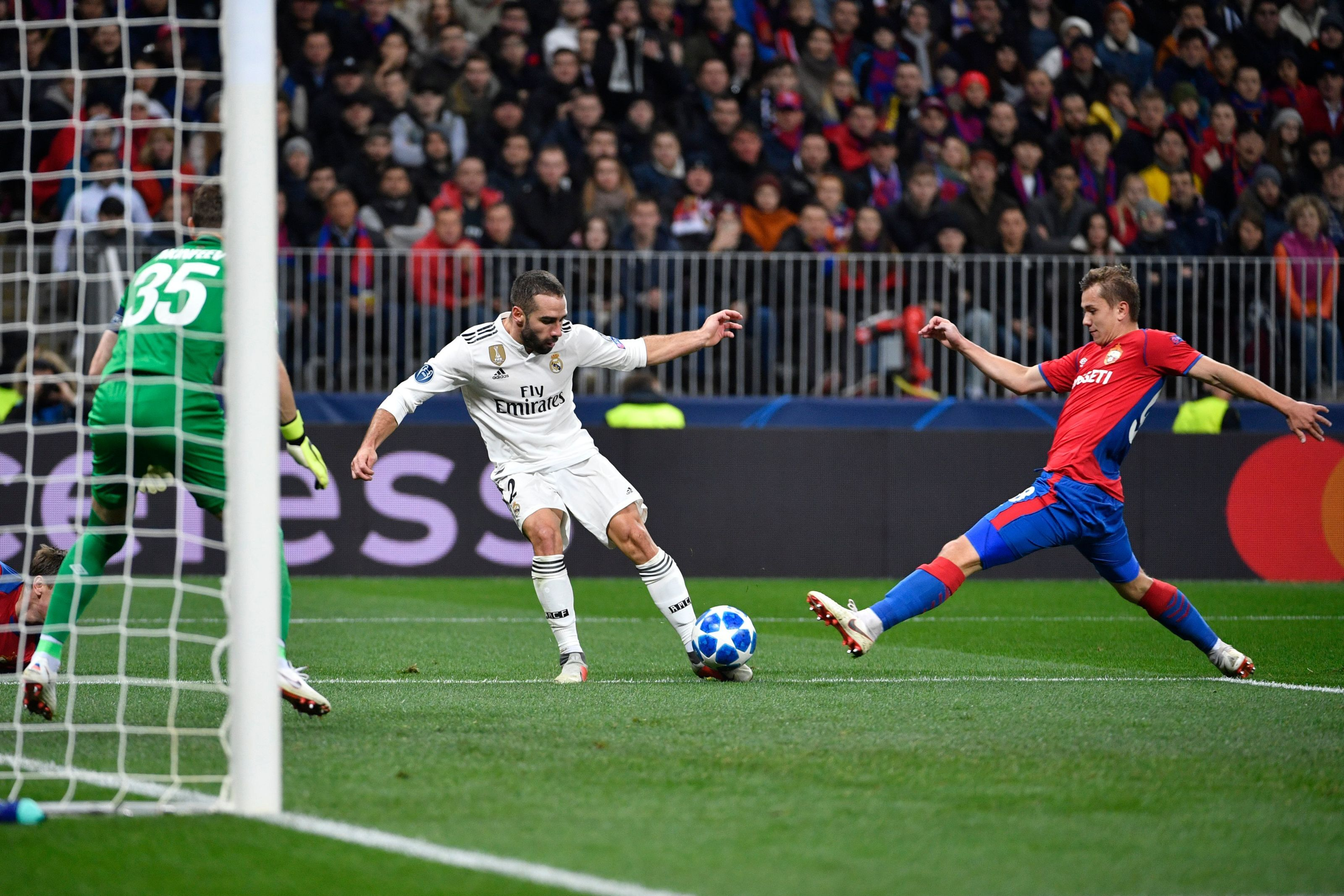 Real Madrid: Dani Carvajal limps off in loss to CSKA Moscow