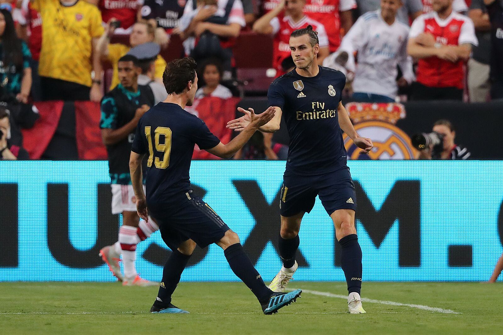Real Madrid 2 (3) - Arsenal 2(2): Players who impressed and