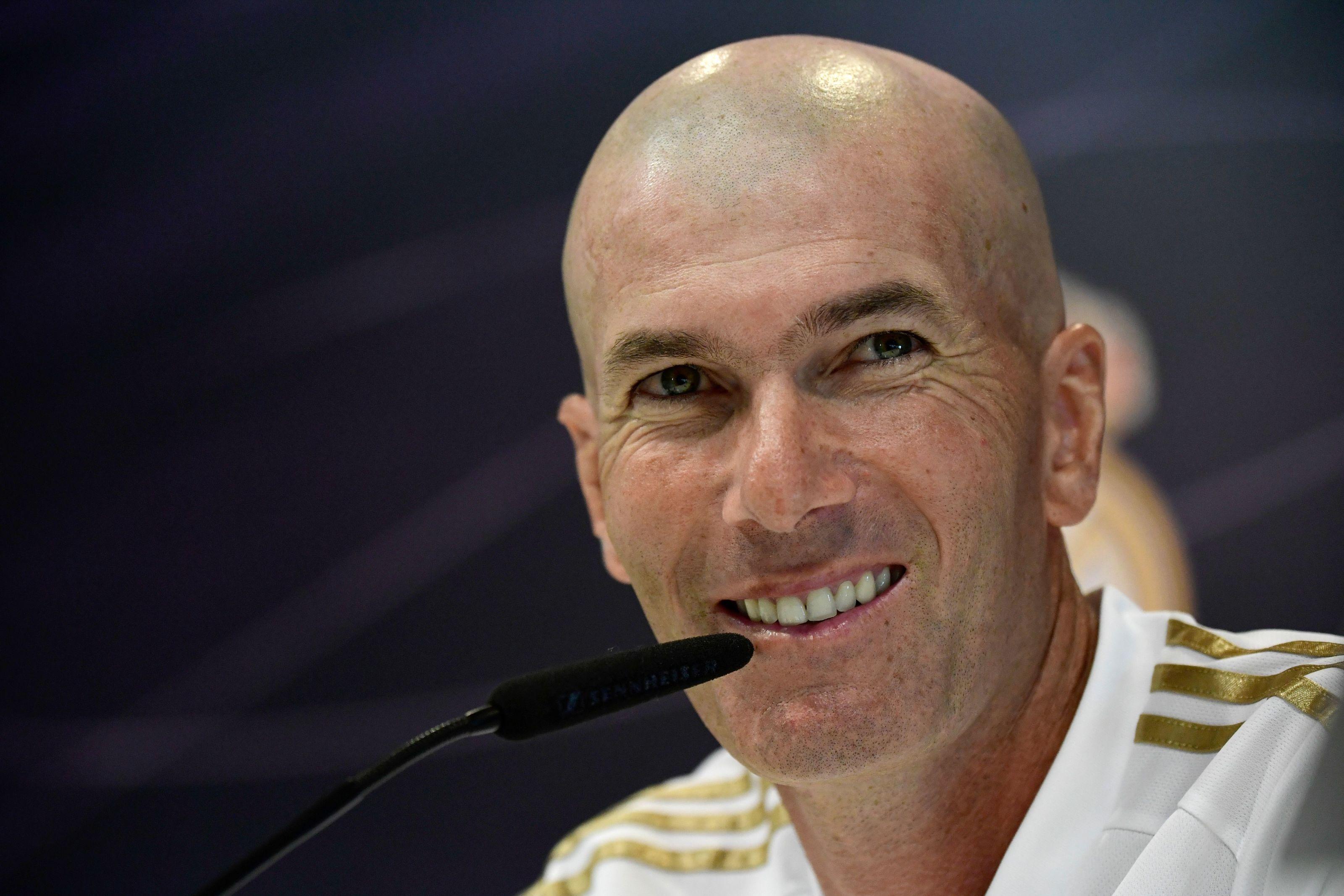 Real Madrid manager Zinedine Zidane optimistic ahead of La Liga opener