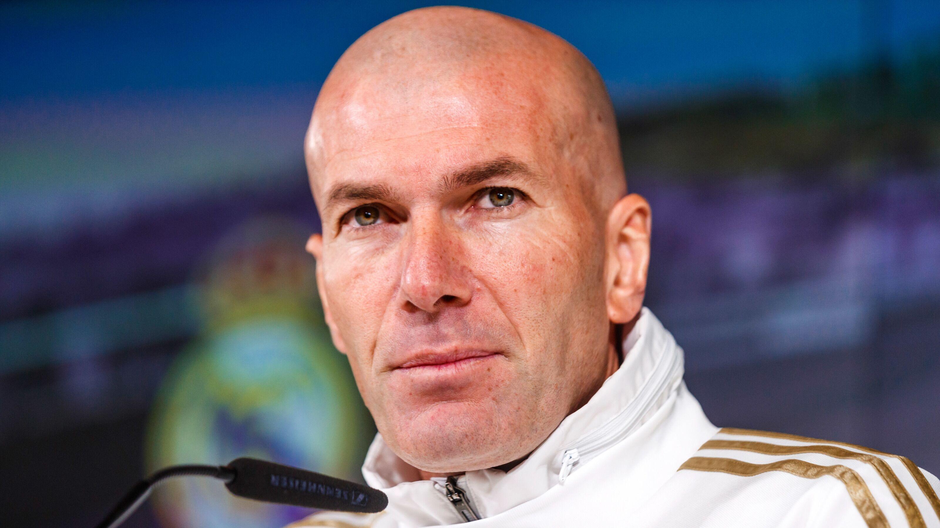 Real Madrid: Zinedine Zidane is unsurprisingly France's dream target
