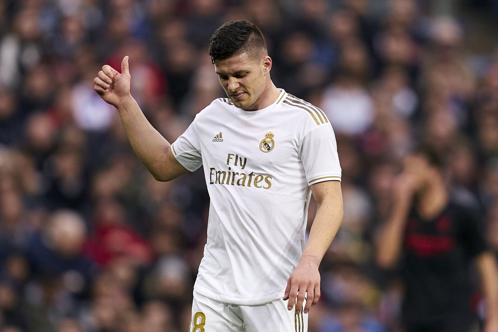Real Madrid: Luka Jovic targeted as PSG's Edinson Cavani replacement?