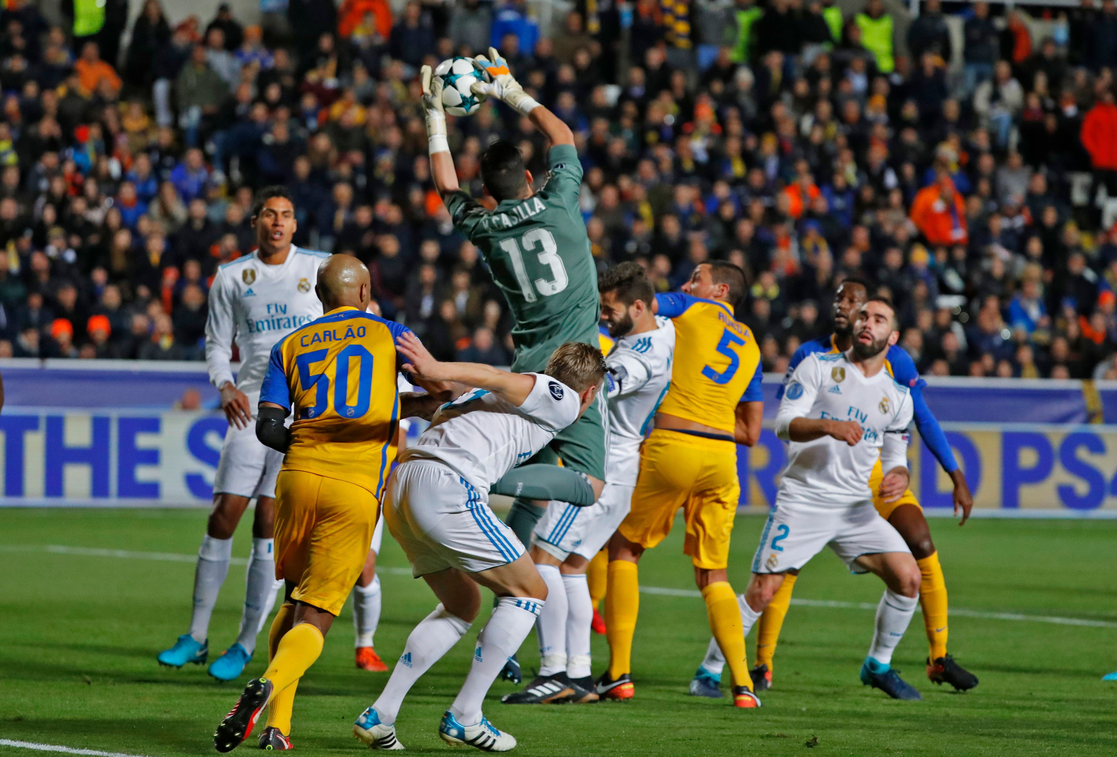 Player Ratings Real Madrid 2: Real Madrid Player Ratings From The 6-0 Win Over APOEL