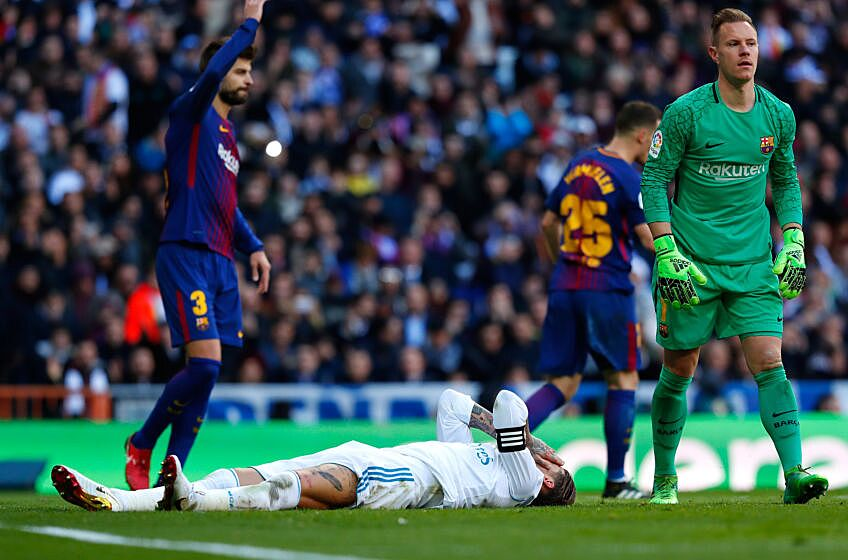 03c3ef1770b30 Real Madrid 0 - 3 Barcelona - match recap from Madrid s embarrassing ...