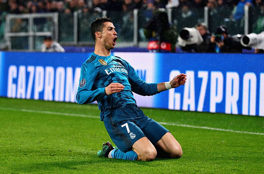 6c945970b9d Real Madrid completely dismantled Juventus in the first leg of the Champions  League quarterfinals Tuesday night. Thanks to two goals from Cristiano  Ronaldo ...