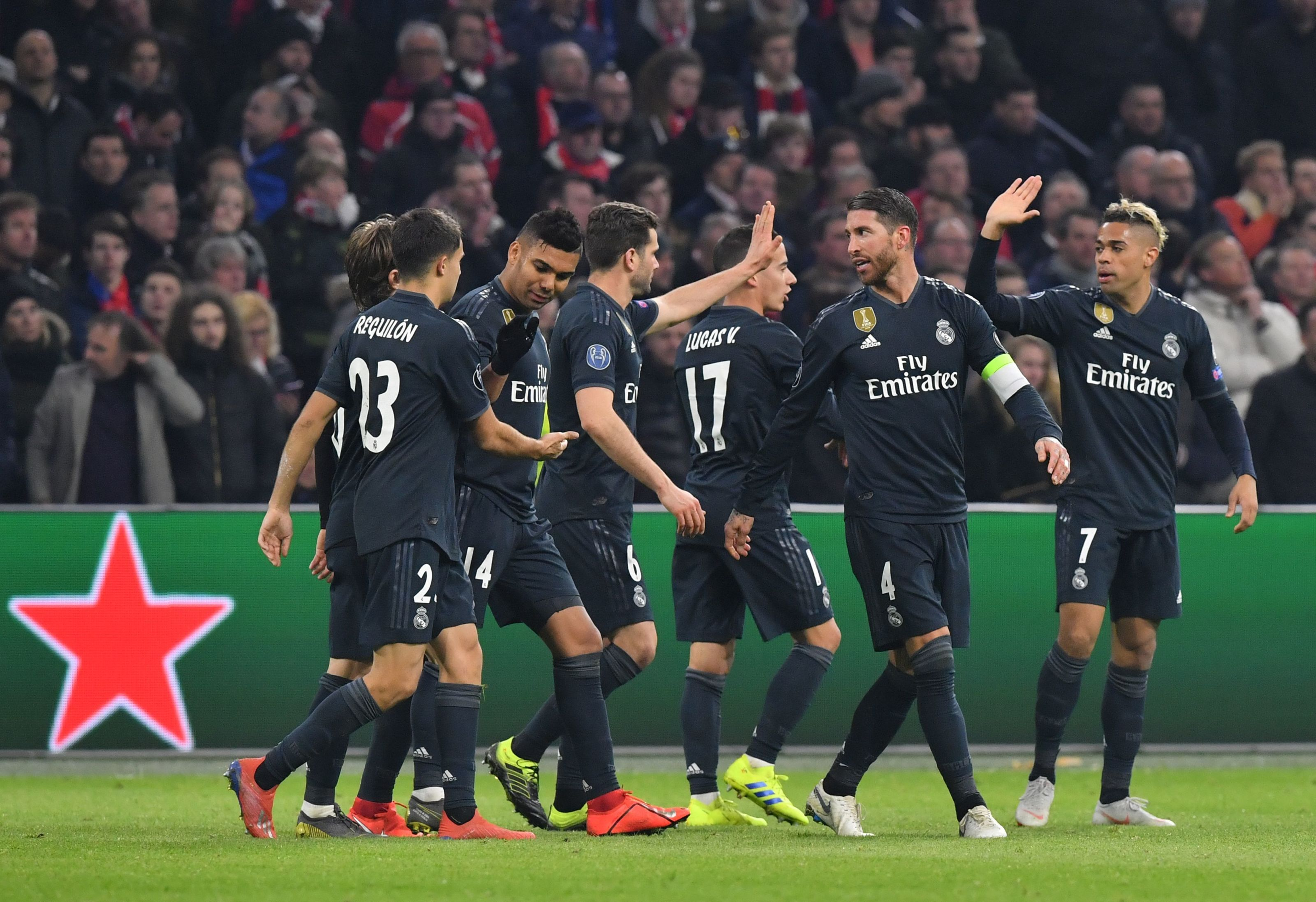 Player Ratings Real Madrid 2: Player Ratings As Real Madrid Snatch 2-1 Win Against Ajax