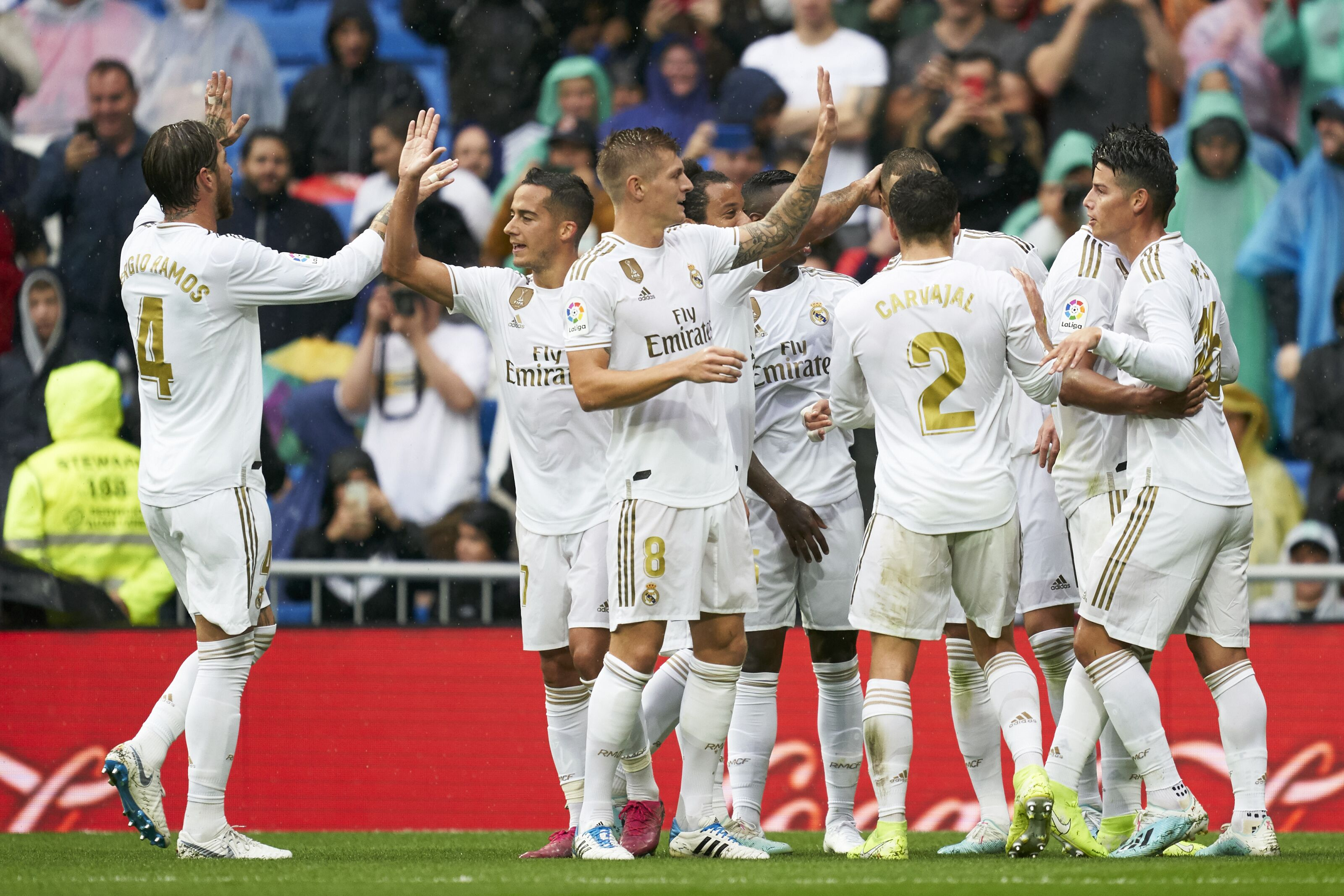 Real Madrid vs. Levante Player Ratings: James Rodriguez ...
