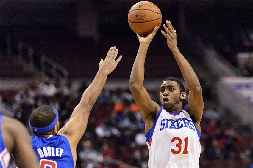 hollis thompson playing key role for the sixers