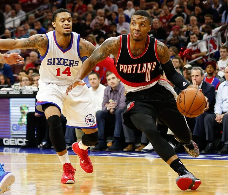 Portland Blazers Draft History: 76ers-Blazers Recap: Another Day, Another Loss