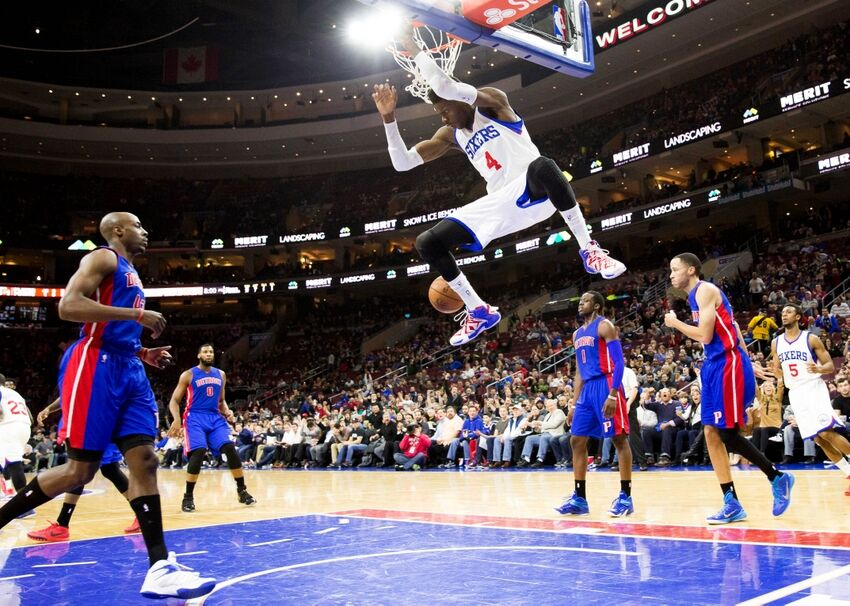 The Embarrassing Sixers Stomp the Pistons 94-83