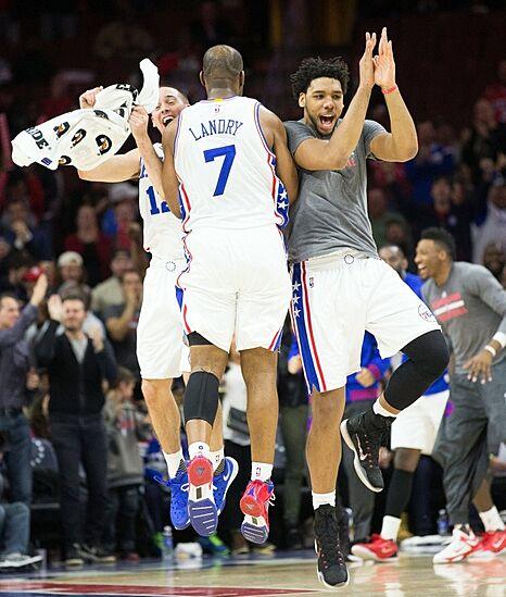 Philadelphia 76ers Building The 2016 Bench