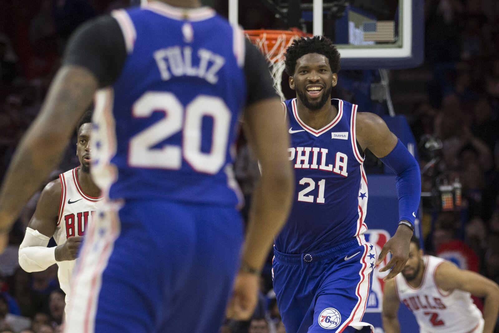 b49b64cd0 Philadelphia 76ers  Player grades from 127-108 win over Chicago Bulls